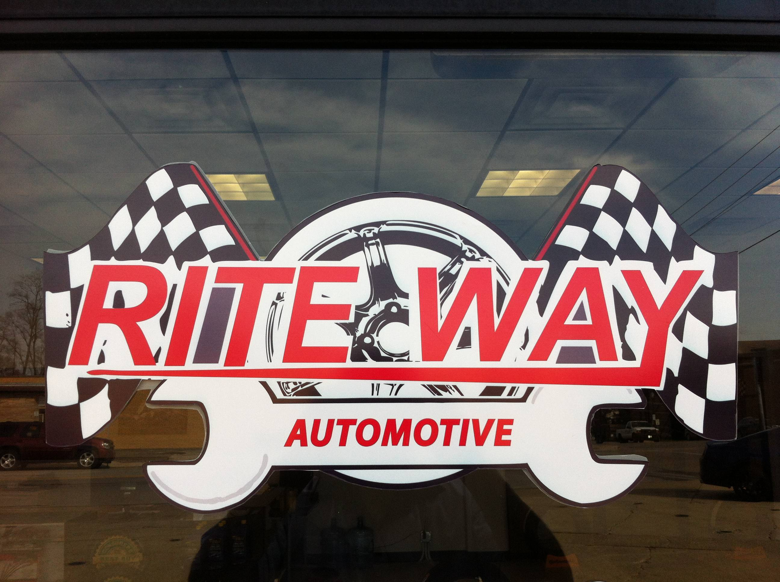 A façade improvement at Rite-Way Automotive in West Chicago triggered the memory of an artifact that was placed behind a commemorative marble stone when the building was originally constructed in 1951.
