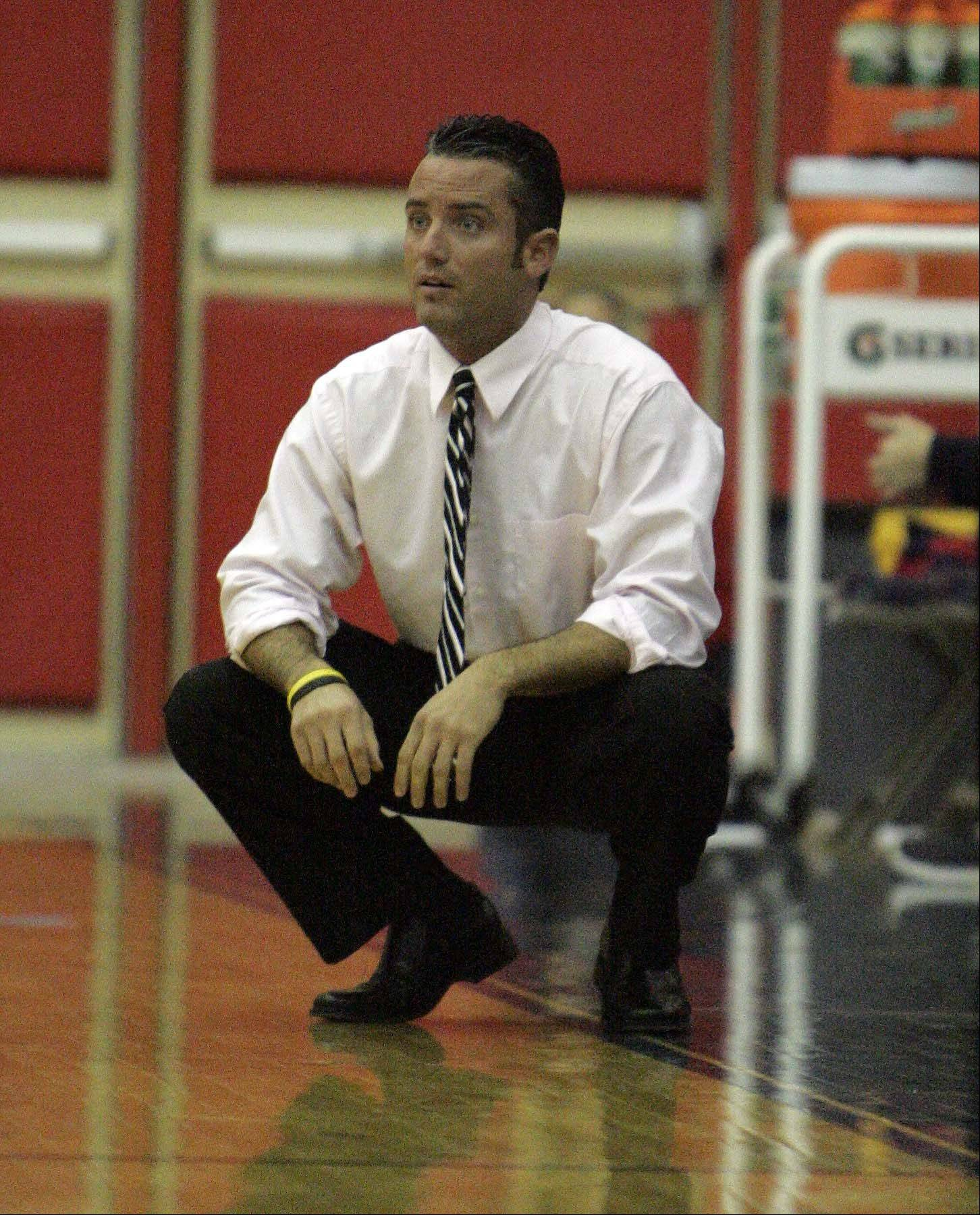 Chaz Taft will be leaving South Elgin High School to become the new boys basketball coach at Waubonsie Valley.