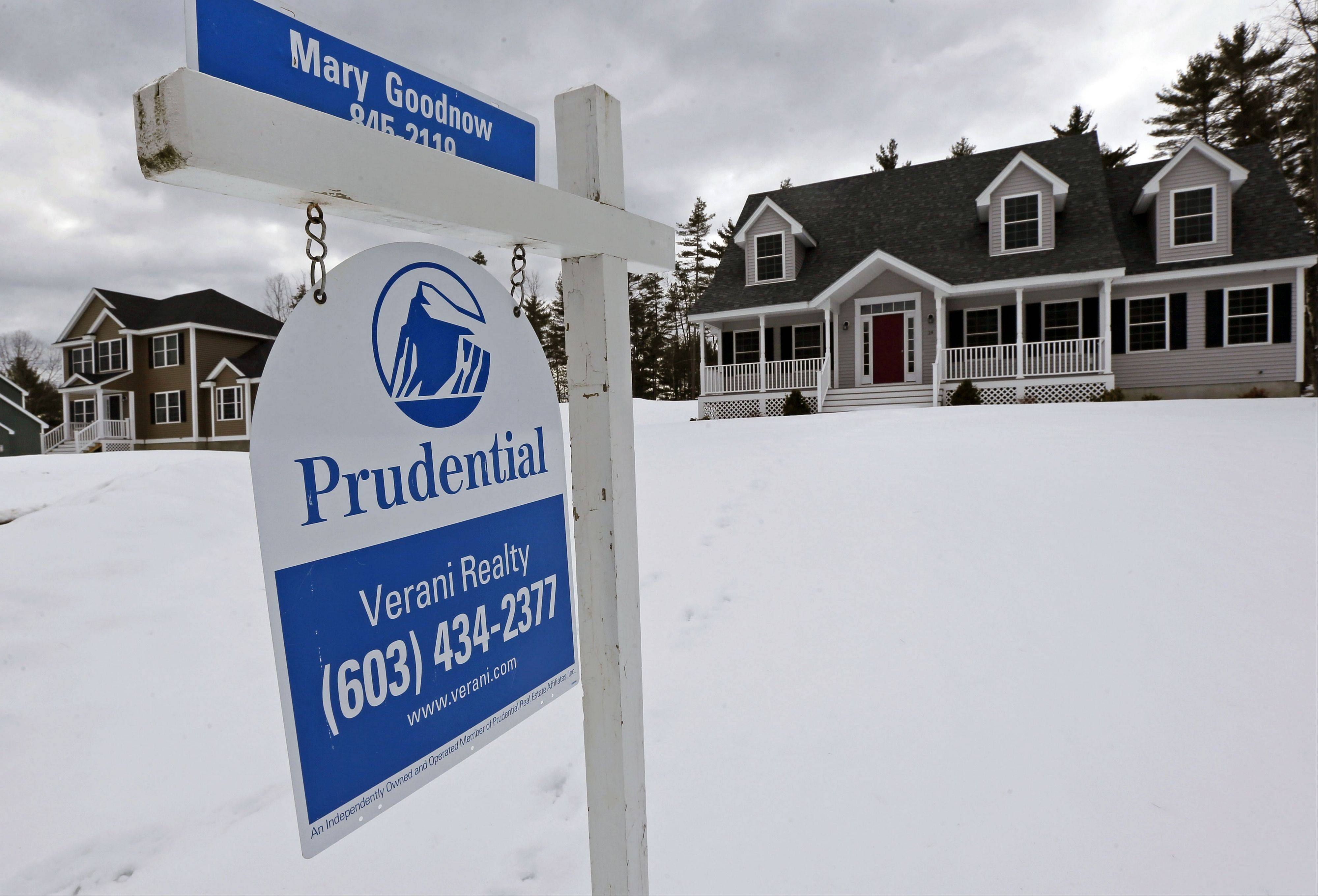 U.S. home prices rose 9.3 percent in February compared with a year ago, the most in nearly seven years. The gains were driven by a growing number of buyers who bid on a limited supply of homes. The Standard & Poor's/Case-Shiller 20-city home price index increased from an 8.1 percent year-over-year gain in January. And annual prices rose in February in all 20 cities for the second month in a row.