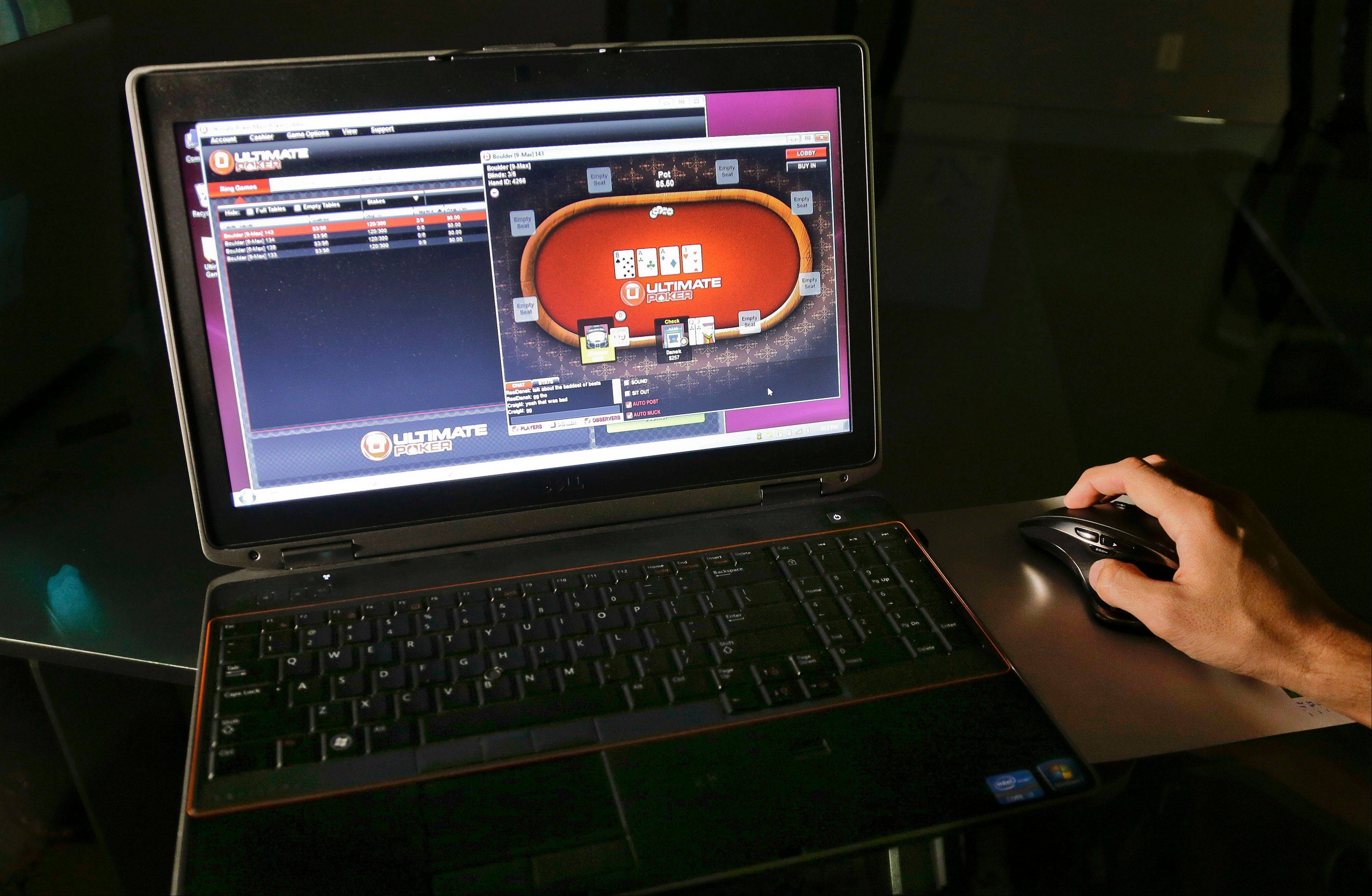 Ultimate Poker, the first legal, real-money poker site in the United States, will be available only to in players in Nevada but likely represents the shape of things to come for gamblers across the country.