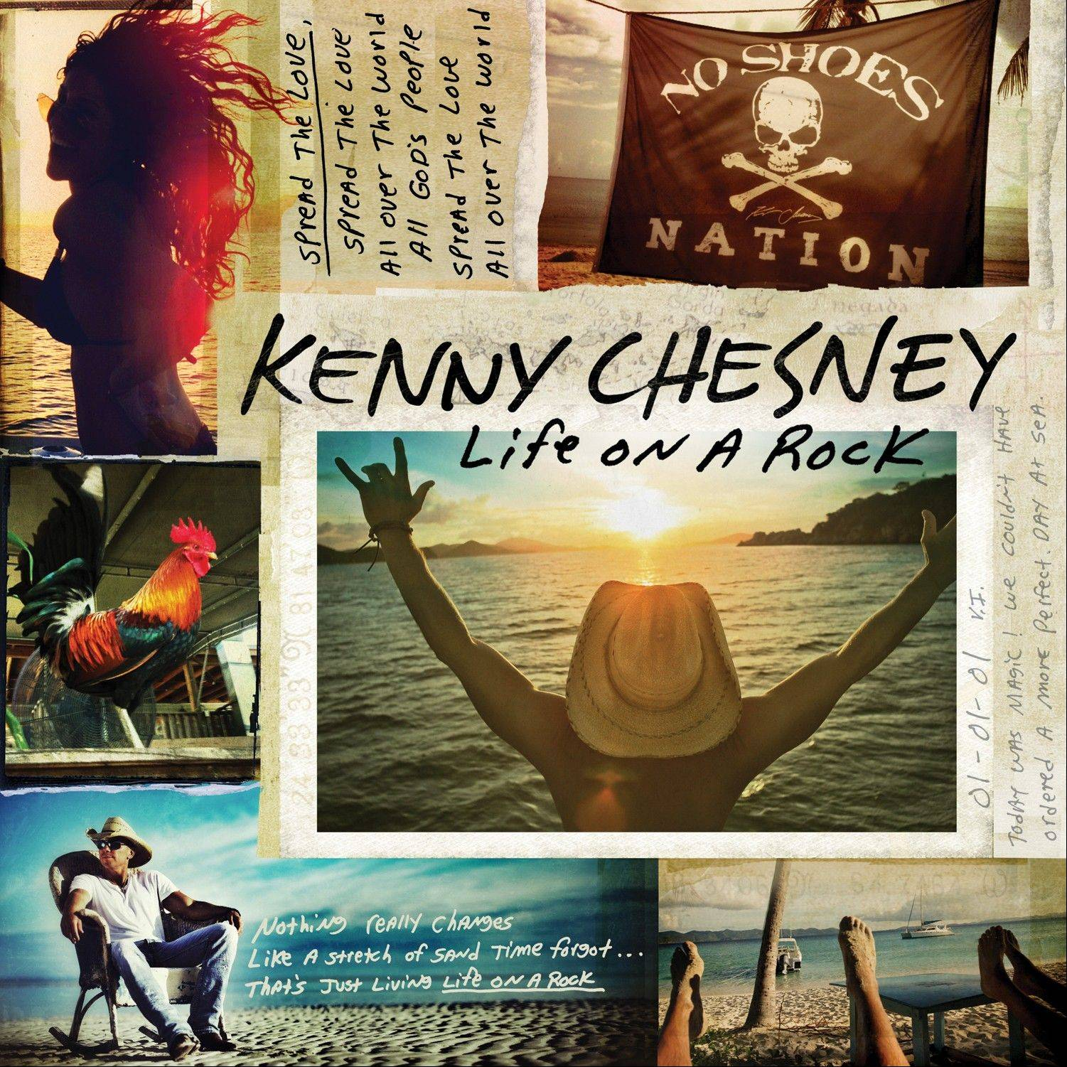 "Kenny Chesney's ""Life on a Rock"""