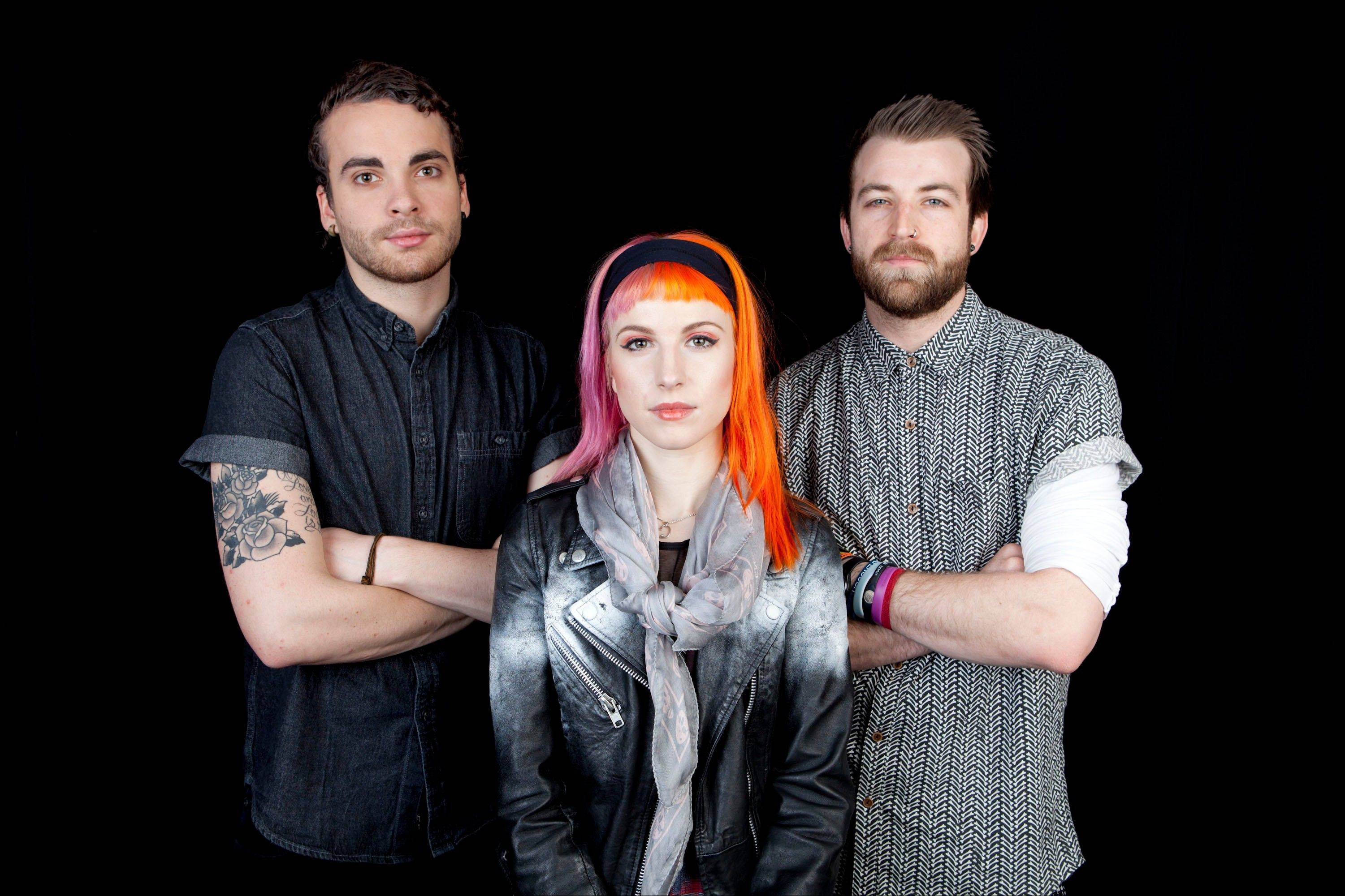 Paramore -- featuring Taylor York, Hayley Williams and Jeremy Davis -- is out with a fourth album. They play a sold-out show May 9 at the Chicago Theatre.