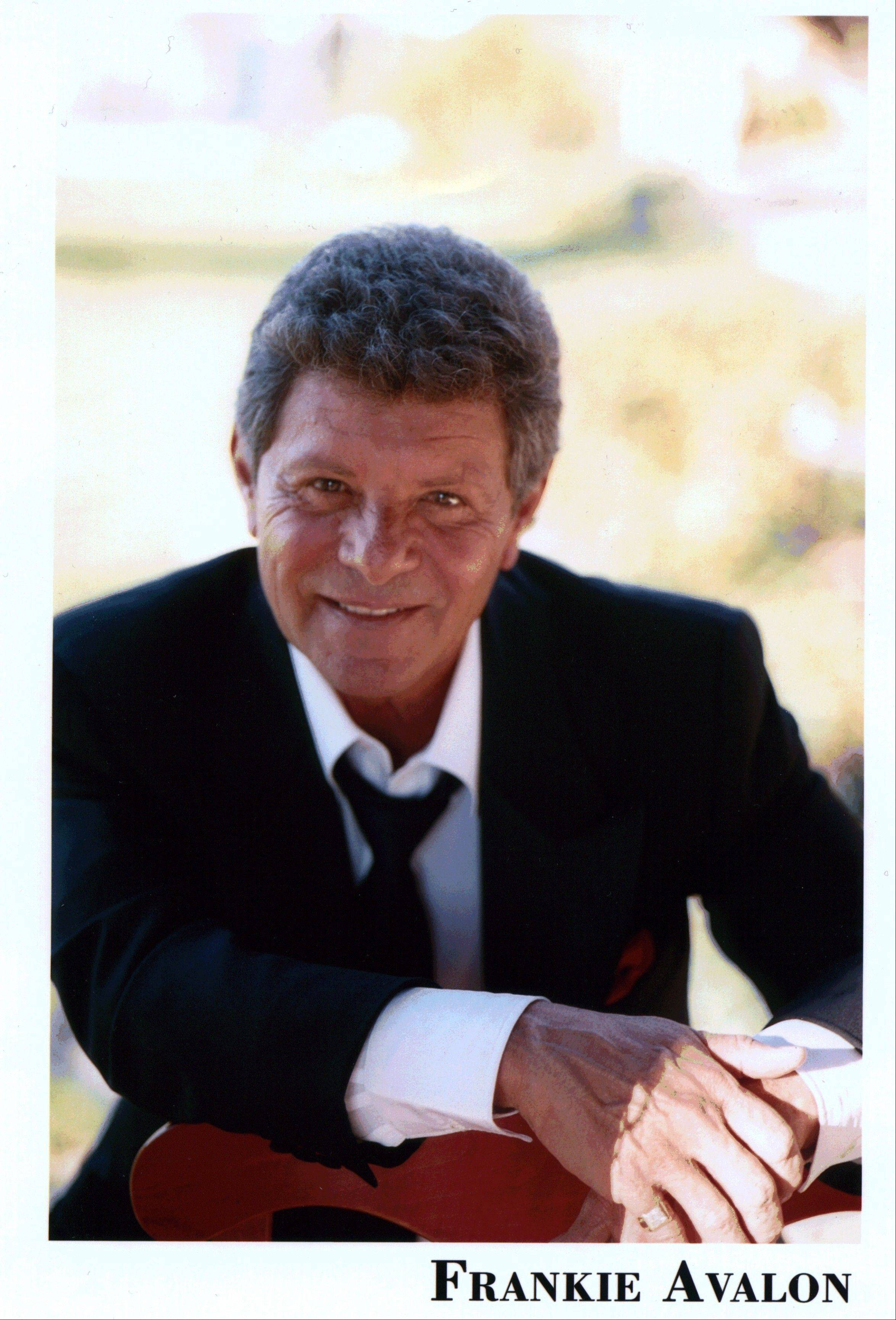 Frankie Avalon performs at the Arcada Theatre in St. Charles.