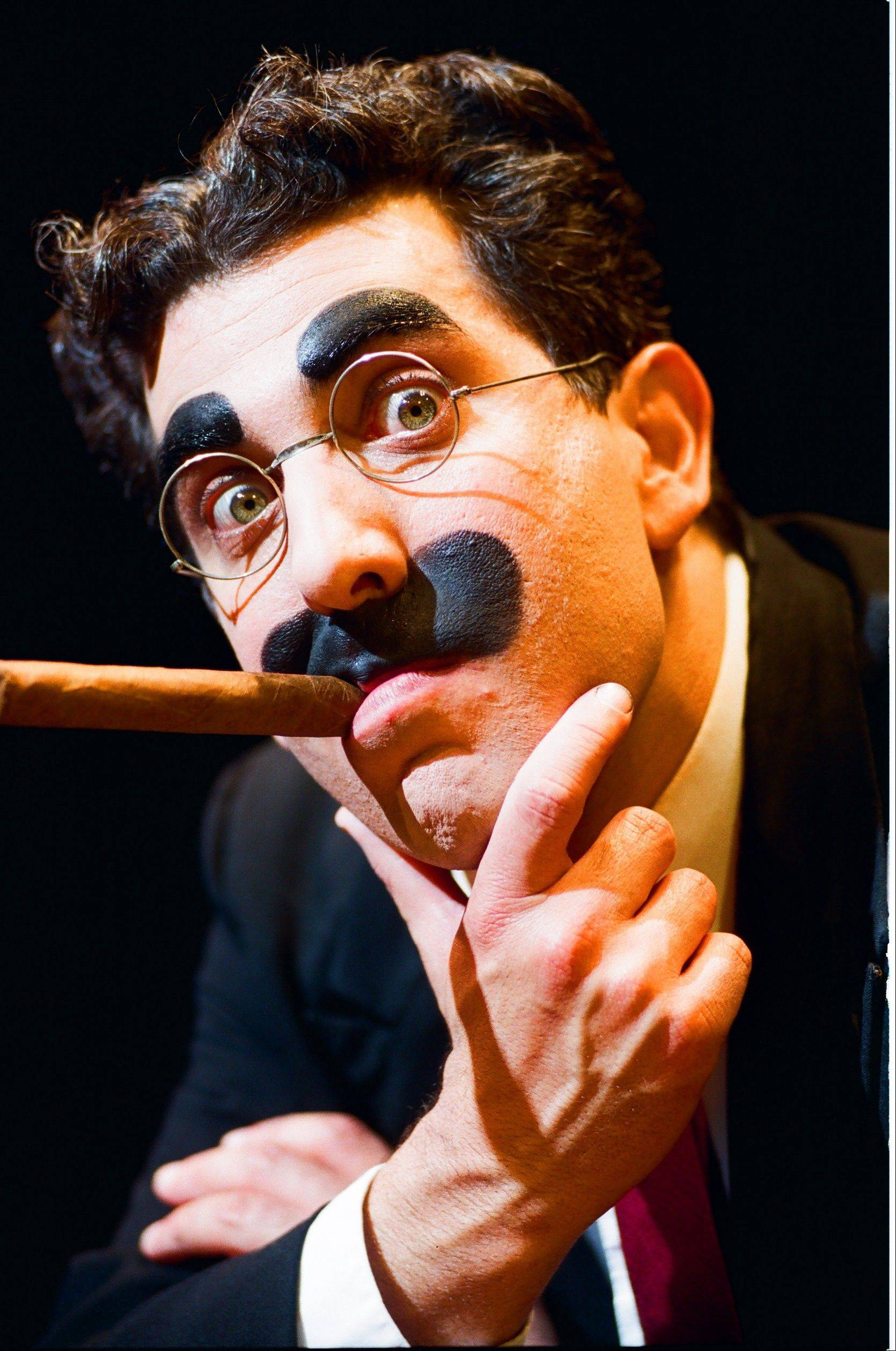 "Frank Ferrante brings his critically acclaimed one-man show ""An Evening With Groucho"" to the Metropolis Performing Arts Centre in Arlington Heights on Sunday, May 5."