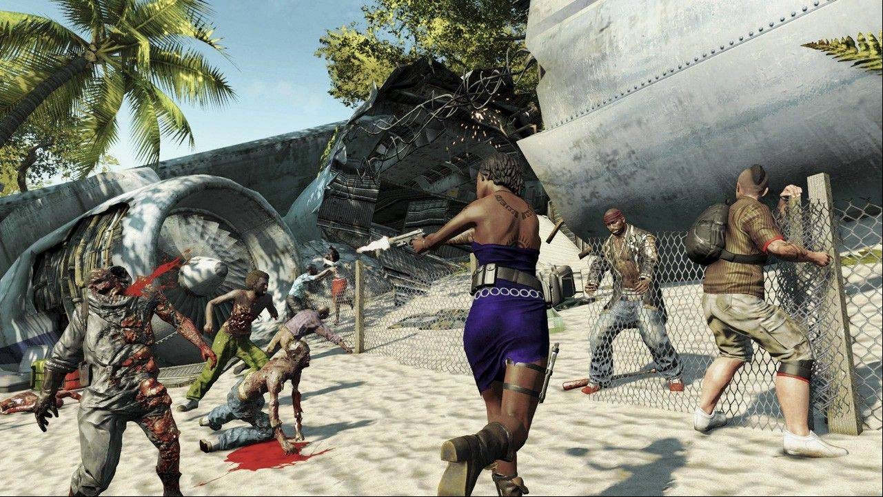 "You can team up with friends online to try to even the odds against the ravenous hordes in ""Dead Island Riptide."""