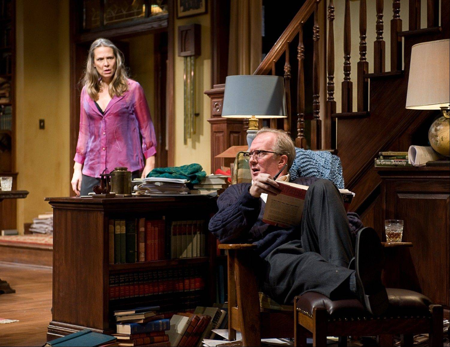 "Amy Morton and Tracy Letts received lead actress and actor Tony Award nominations Tuesday for Steppenwolf Theatre's Broadway transfer of ""Who's Afraid of Virginia Woolf?"""