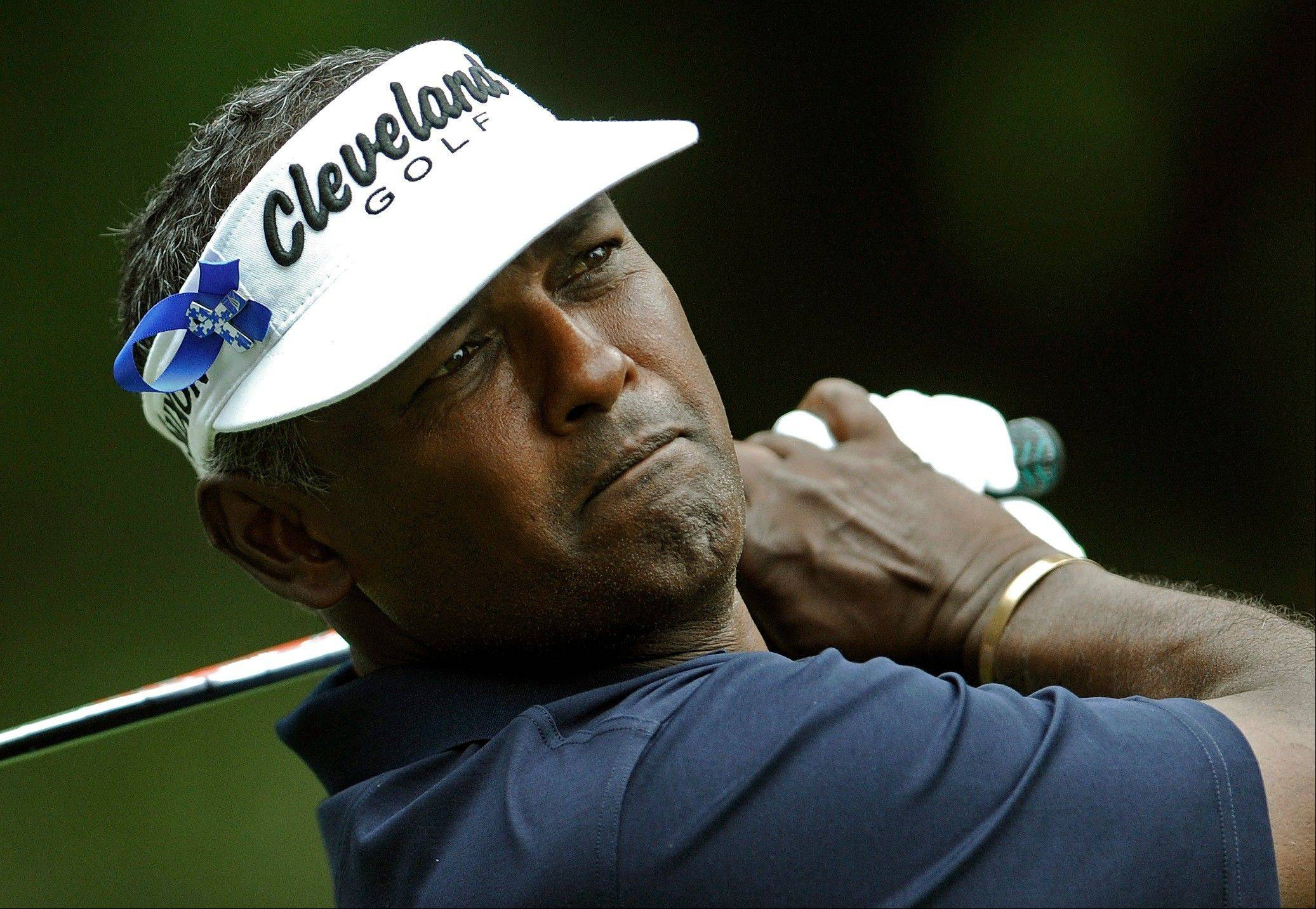 Golfer Vijay Singh said in an interview with Sports Illustrated that he paid $9,000 last November for deer antler spray, hologram chips and other products from Sports With Alternatives To Steroids.