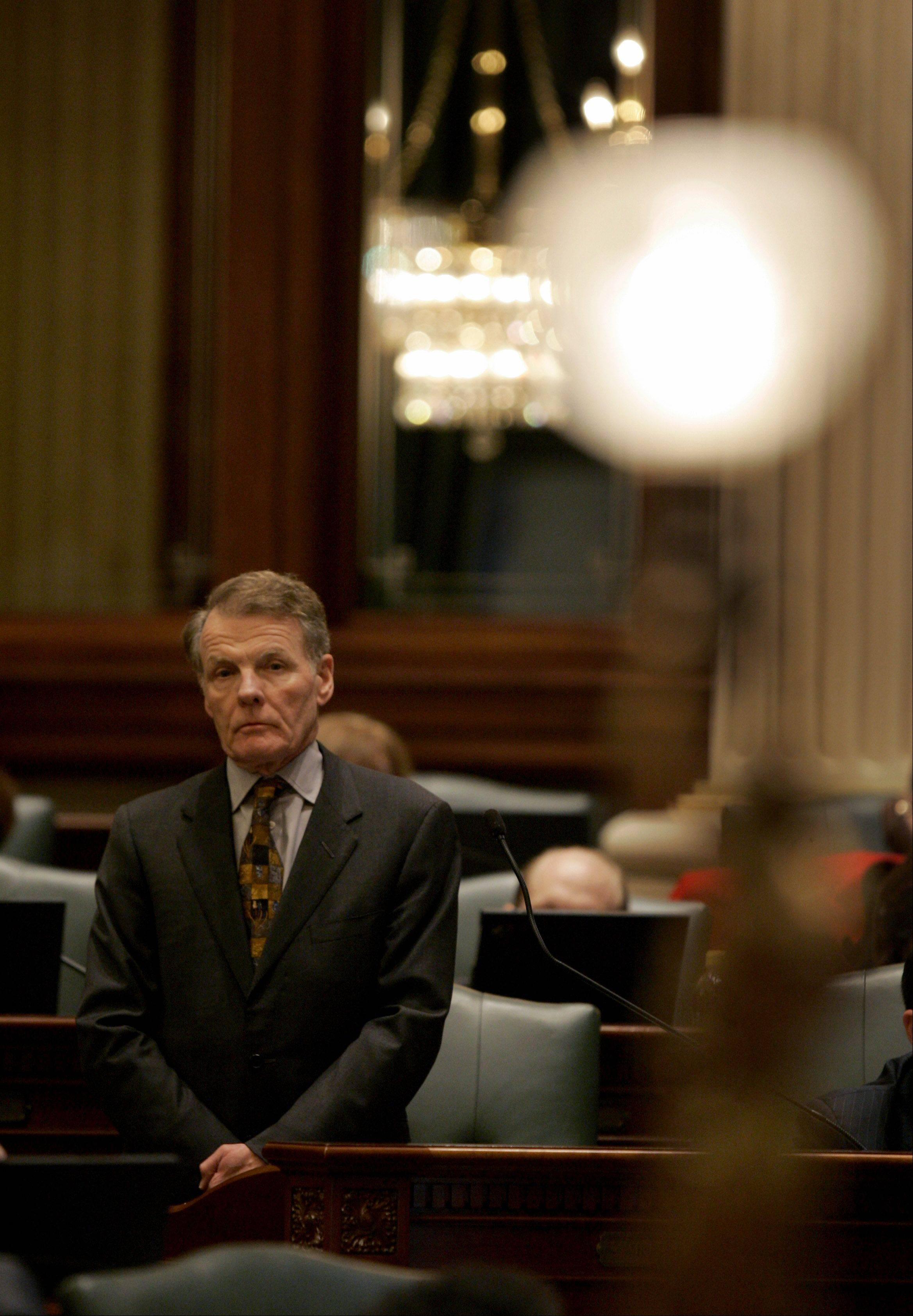 Illinois House showdown on pensions possible today