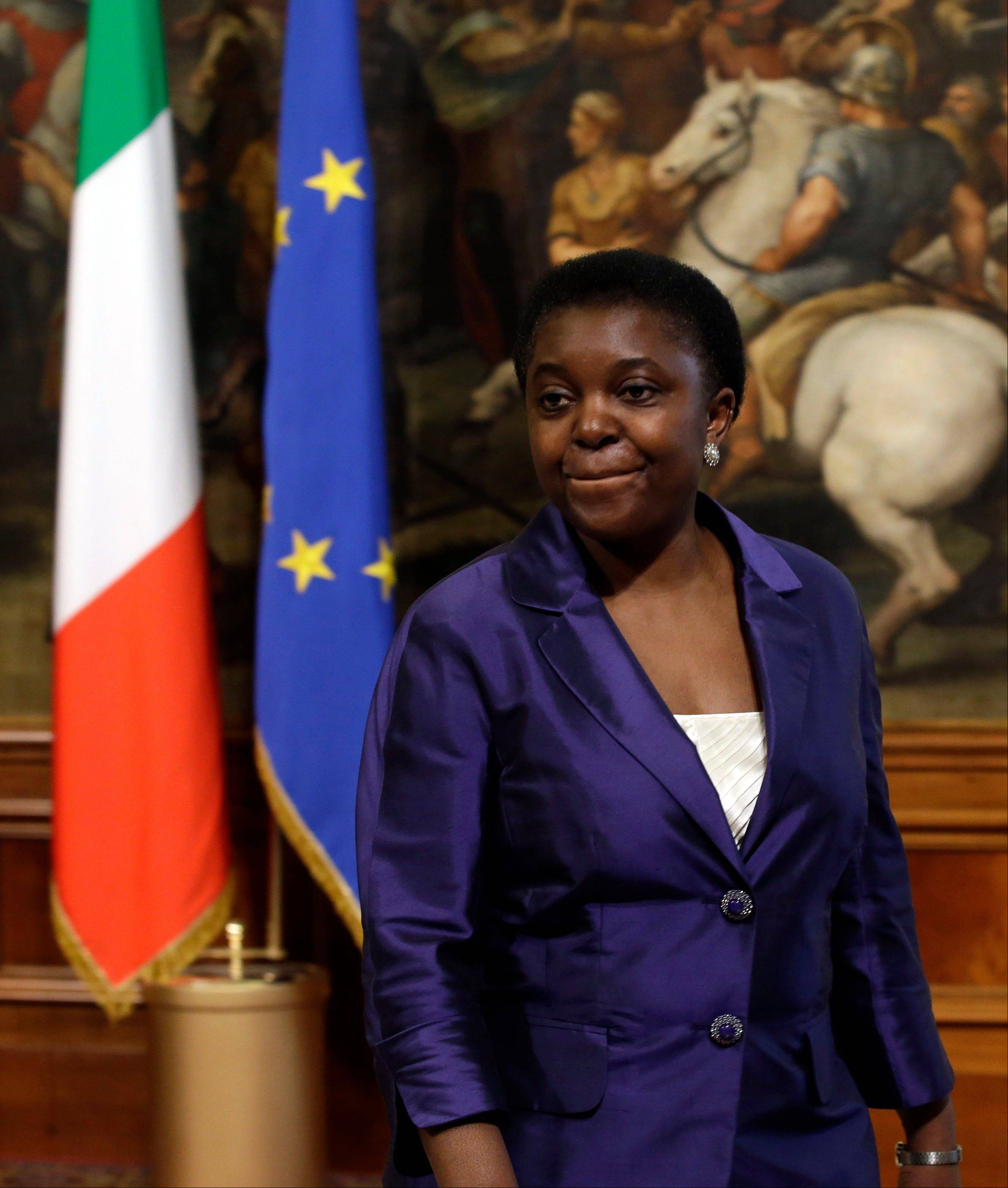 The appointment of Italy�s first black cabinet minister, Cecile Kyenge, was initially hailed as a giant step forward for a country that has long been ill at ease with its increasing immigrant classes. Instead it has exposed Italy�s ugly race problem. Kyenge, 48, was born in Congo and moved to Italy three decades ago to study medicine.
