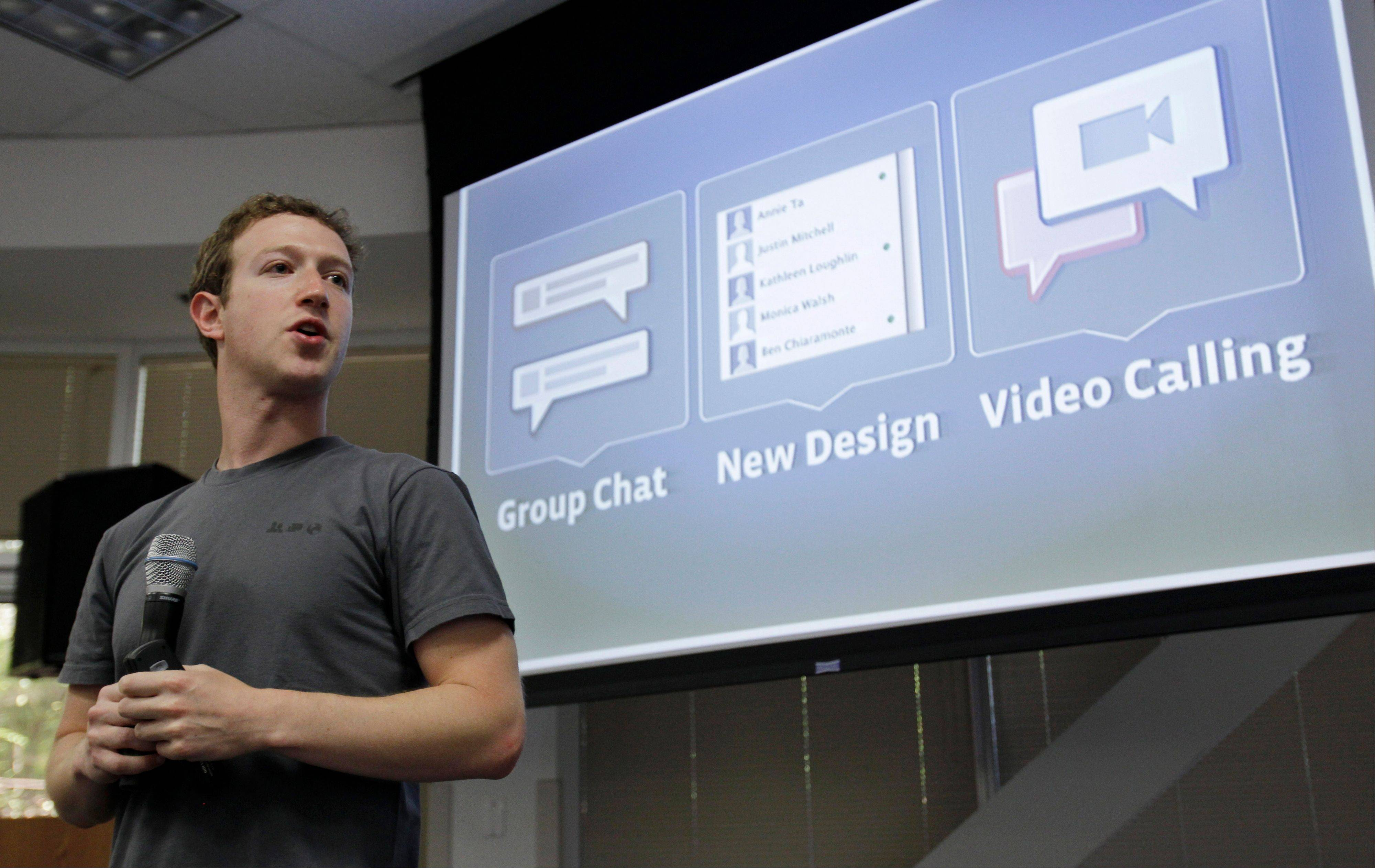 So far this year, Facebook Chief Executive Officer Mark Zuckerberg has unveiled new software for smartphones, added tools for marketers and revamped News Feed, the first thing members see when logging onto the network of more than 1 billion.