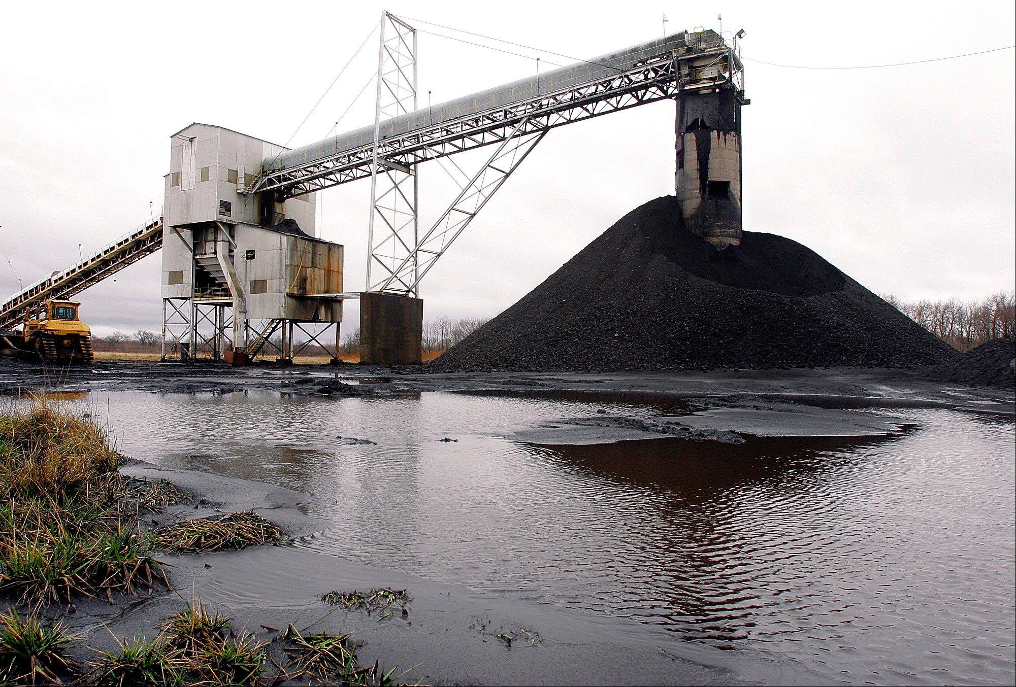 The Illinois Office of Coal Development said that 13 million tons of Illinois coal was exported last year. That's a fivefold increase from the 2.5 million tons shipped out of the U.S. in 2010.