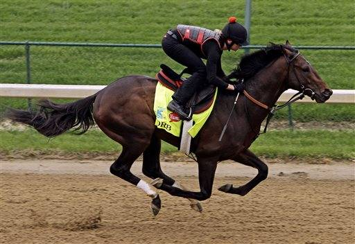 Orb has been made the early 7-2 favorite for the Kentucky Derby, with undefeated Verrazano the second choice in a full field of 20 horses. Trained by Shug McGaughey, Orb drew the No. 16 post on Wednesday. Four horses have won from there, most recently Animal Kingdom two years ago.
