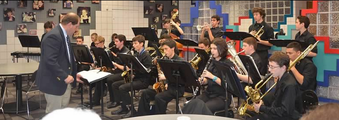 HPHS Jazz Ensemble Performs at Michael's in November 2012