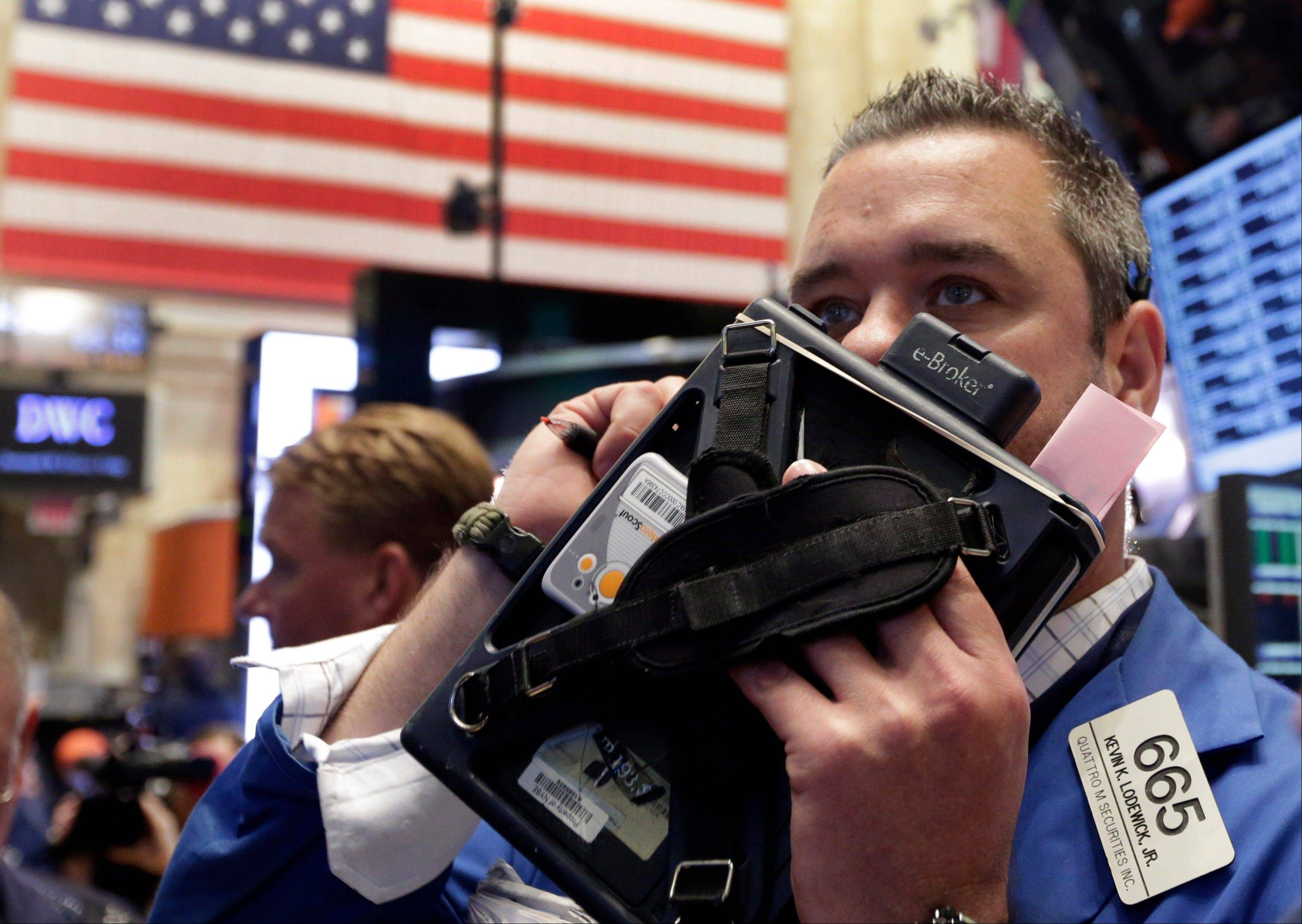 U.S. stocks rose, erasing Wednesday�s decline in the Standard & Poor�s 500 Index, as the European Central Bank cut its key interest rate and American jobless claims unexpectedly fell.