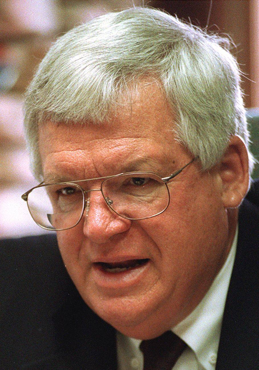 Hastert goes to the mat to reinstate Olympic wrestling