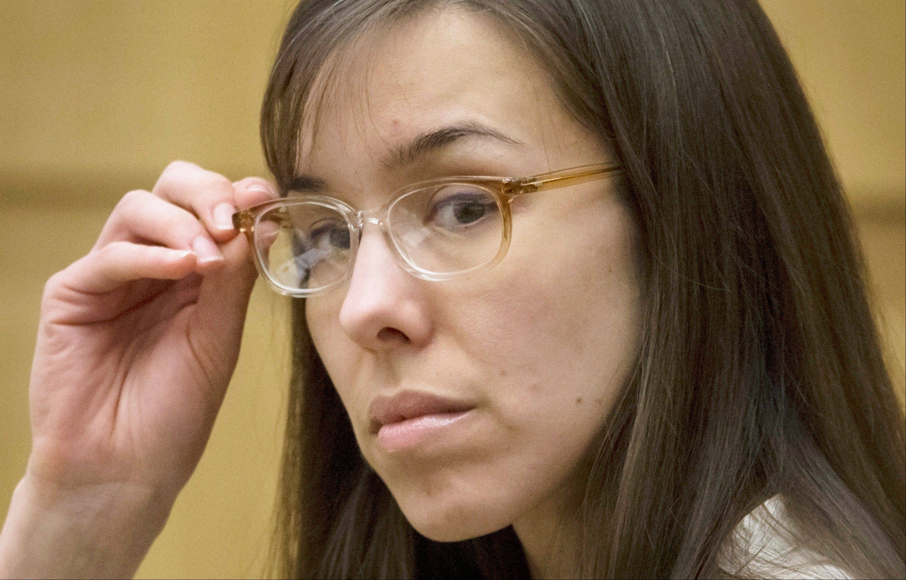 Defendant Jodi Arias is charged with first-degree murder in the stabbing and shooting death of Travis Alexander, 30, in his suburban Phoenix home in June 2008.