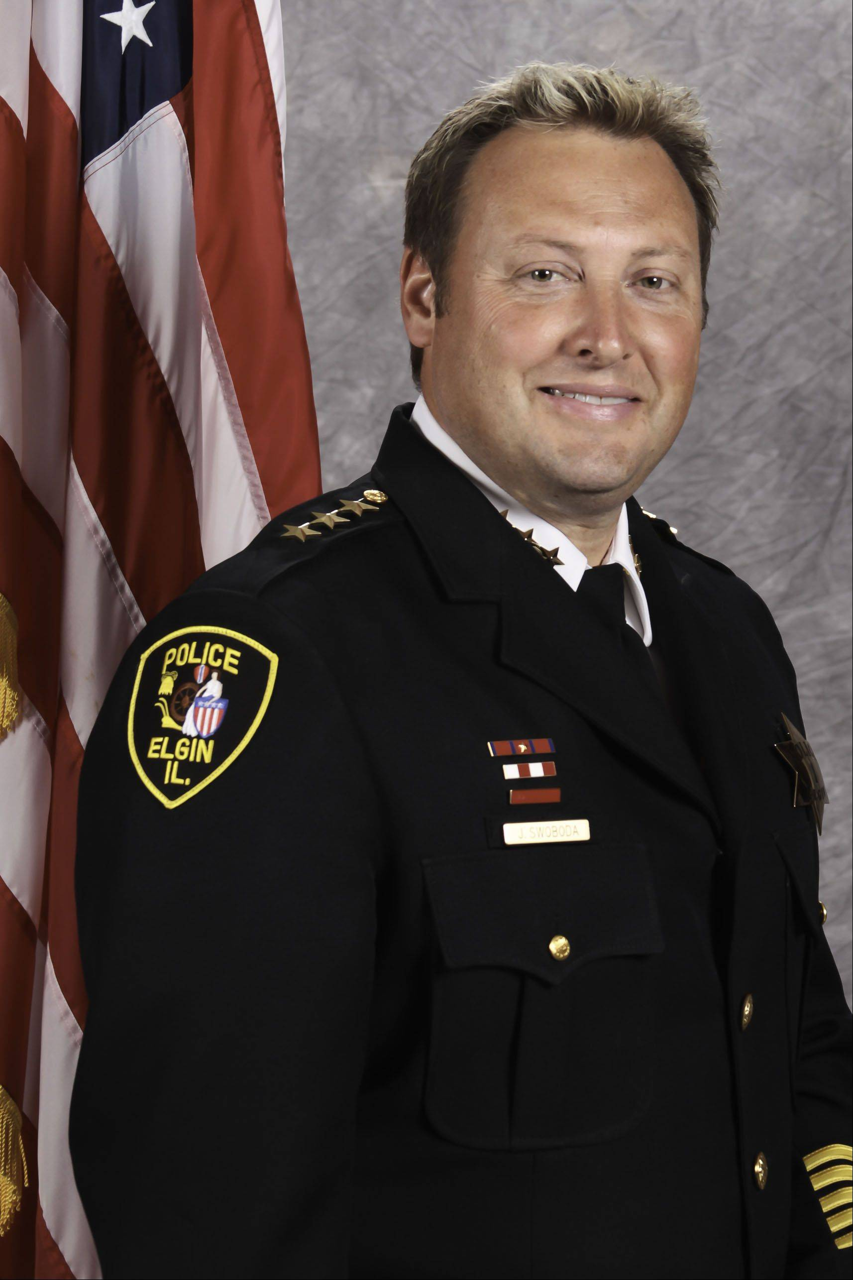 Elgin Police Chief Jeff Swoboda