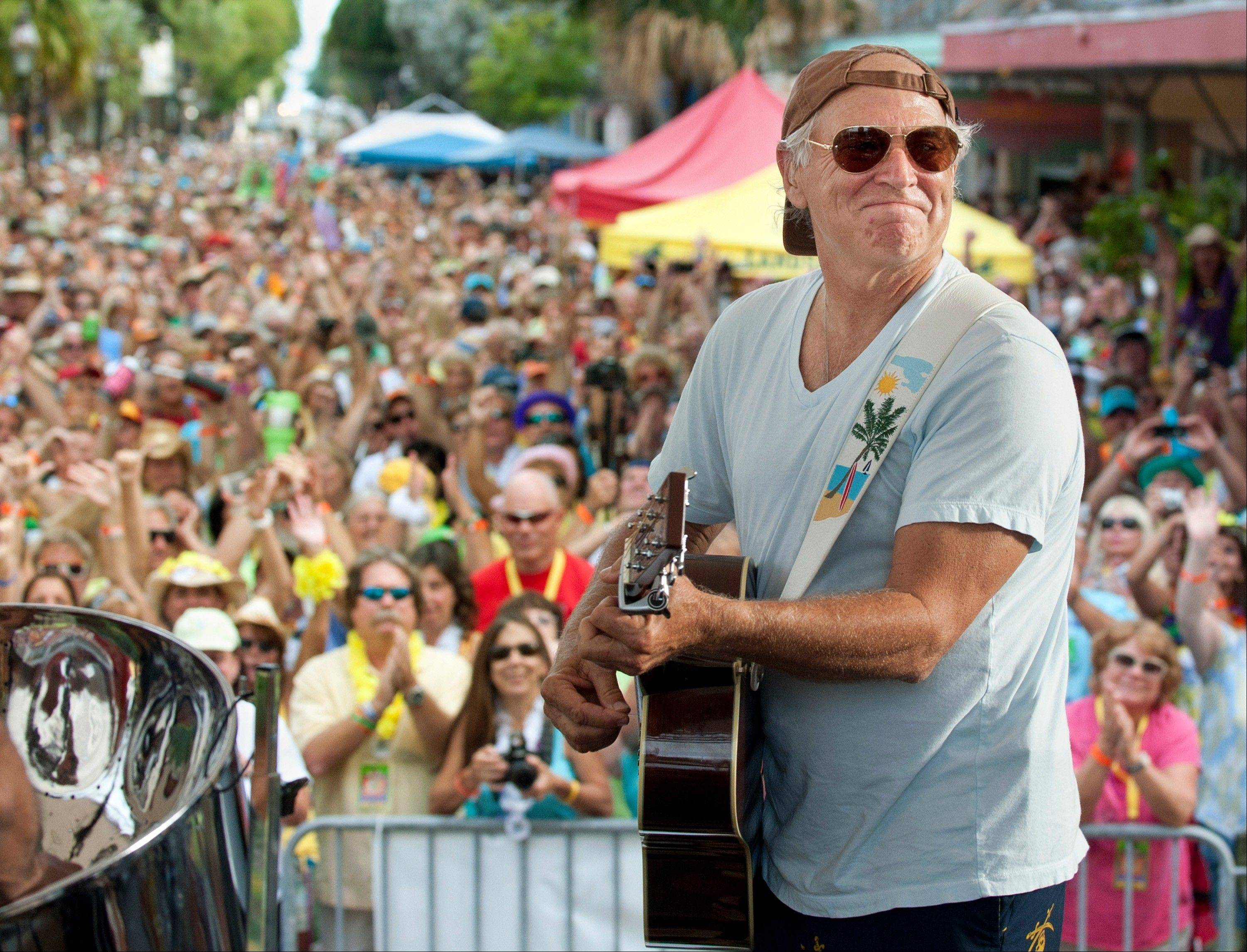 Jimmy Buffett is on the bill for the Boston Marathon benefit concert May 30.
