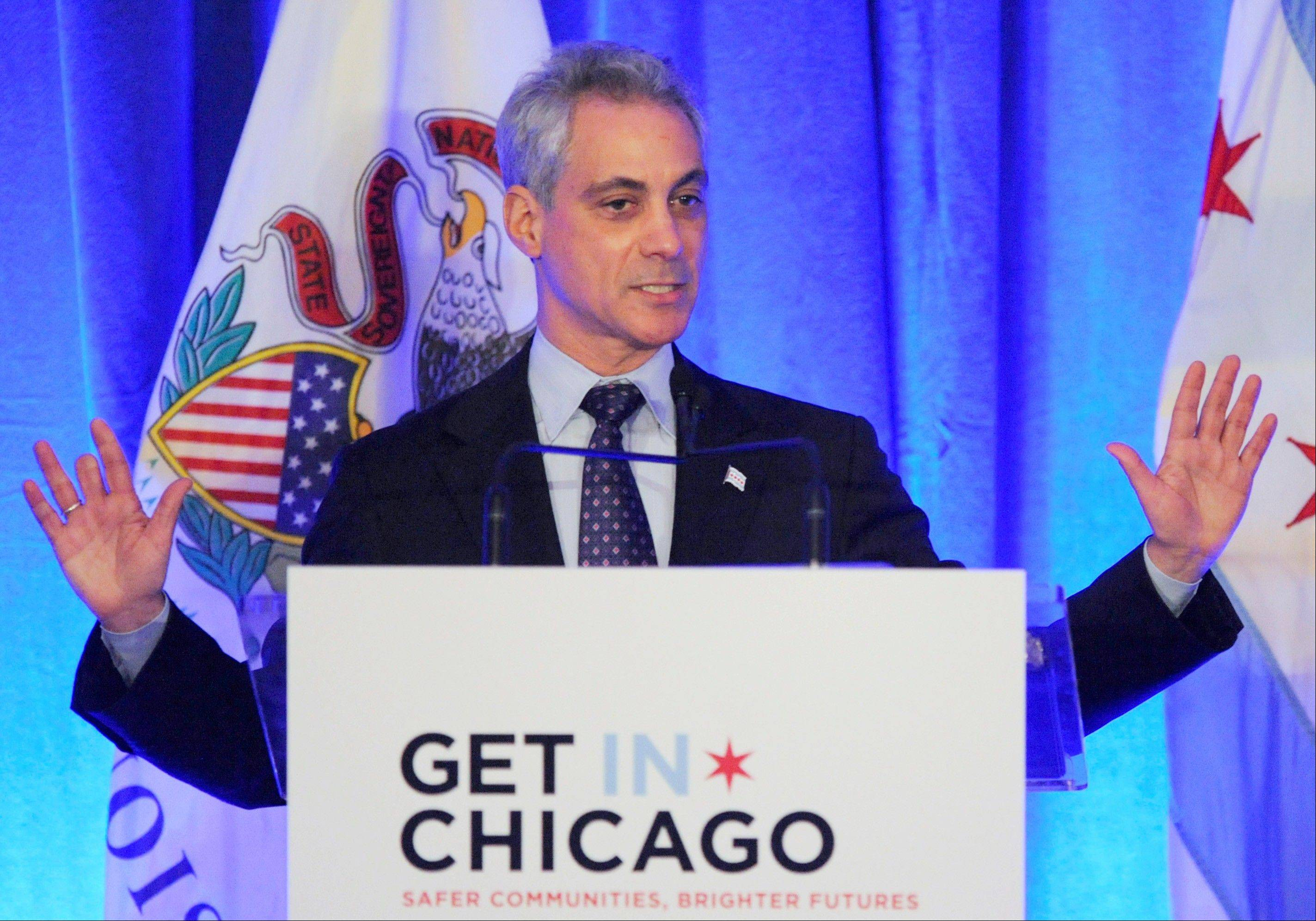 Mayor Rahm Emanuel boosted his support for a Chicago casino this week by pledging 100 percent of revenue will go to schools.