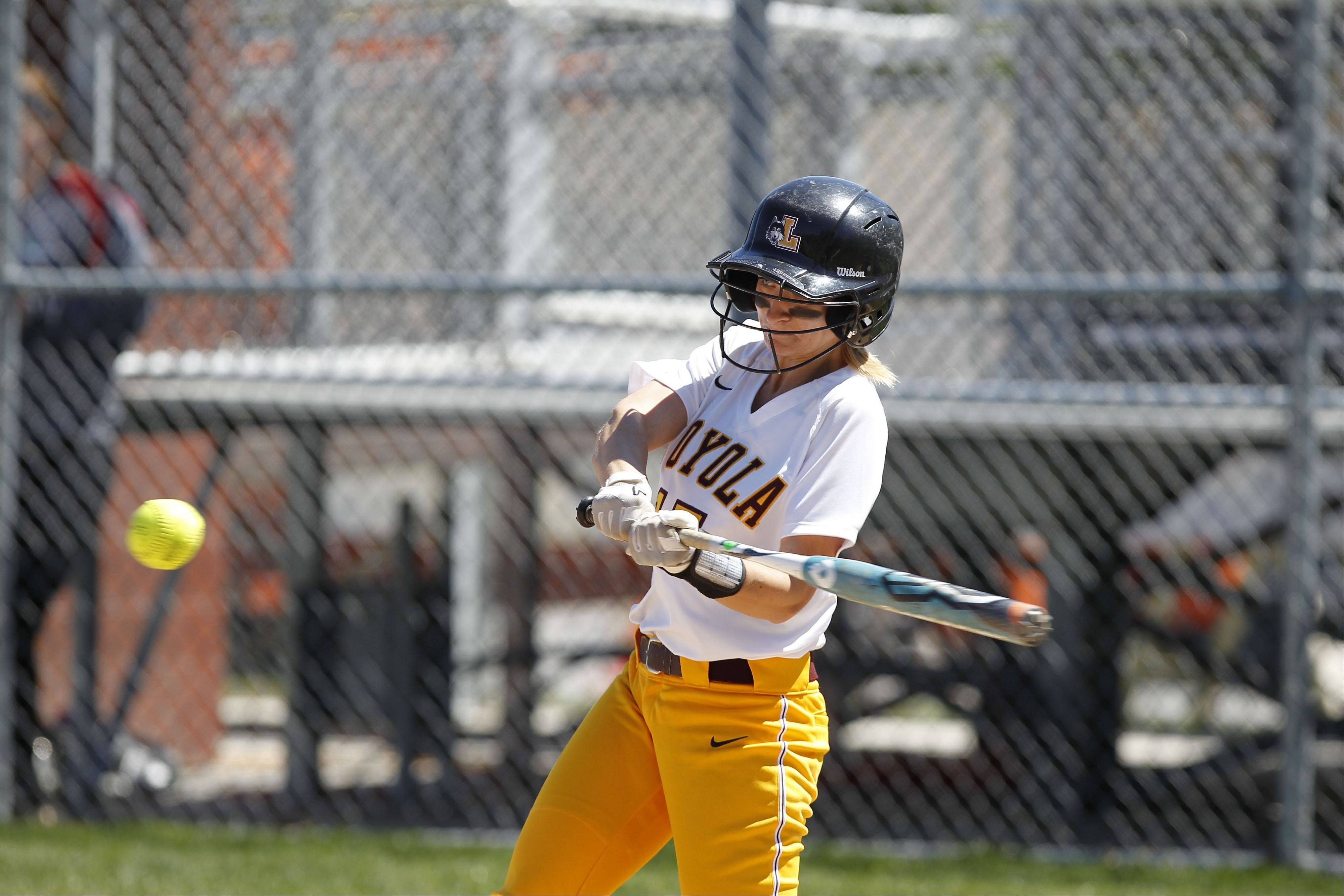Brooke Andresen, a Downers Grove South grad, has carved her name into Loyola University's softball record books. Throughout her four-year collegiate career, Andresen has never hit lower than .325.