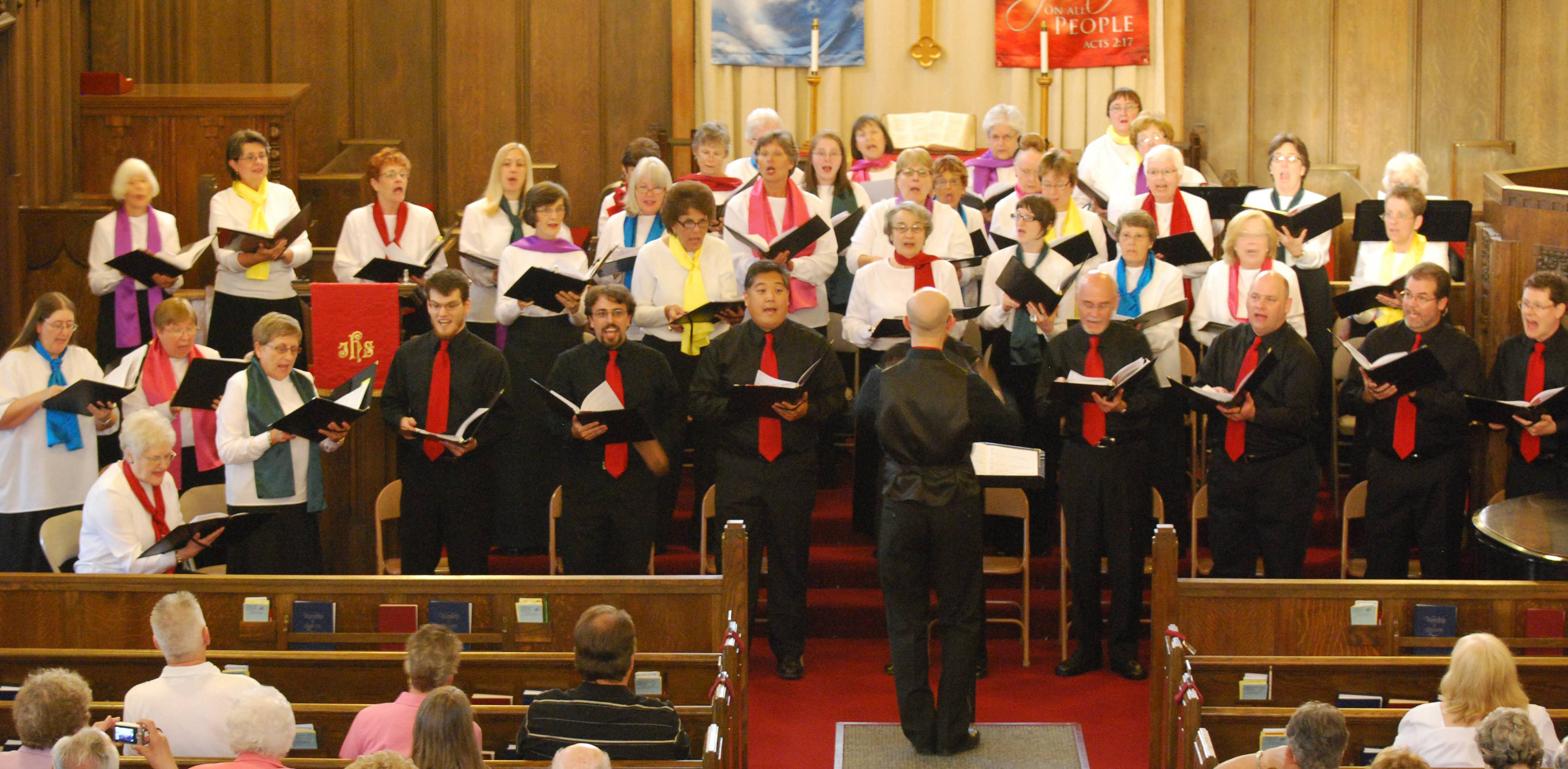 The Northwest Choral Society presents final concert of the 2011-12 season.