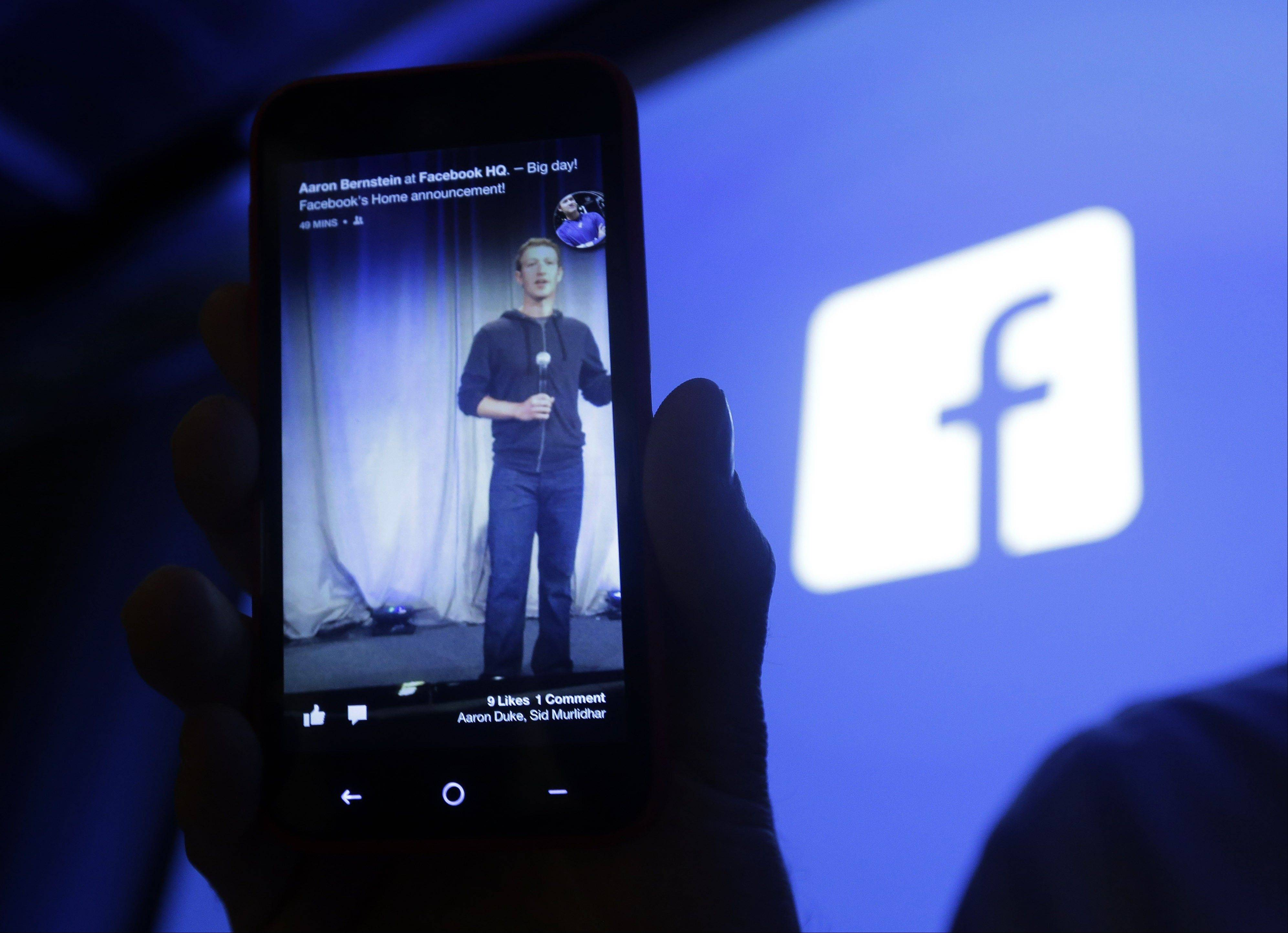 Facebook's net income and revenue grew in the first quarter of 2013, helped by an increase in mobile ad revenue, a figure that some skeptical investors have been watching closely. Facebook Inc. said Wednesday that its net income was $219 million, or 9 cents per share, in the January-March period.
