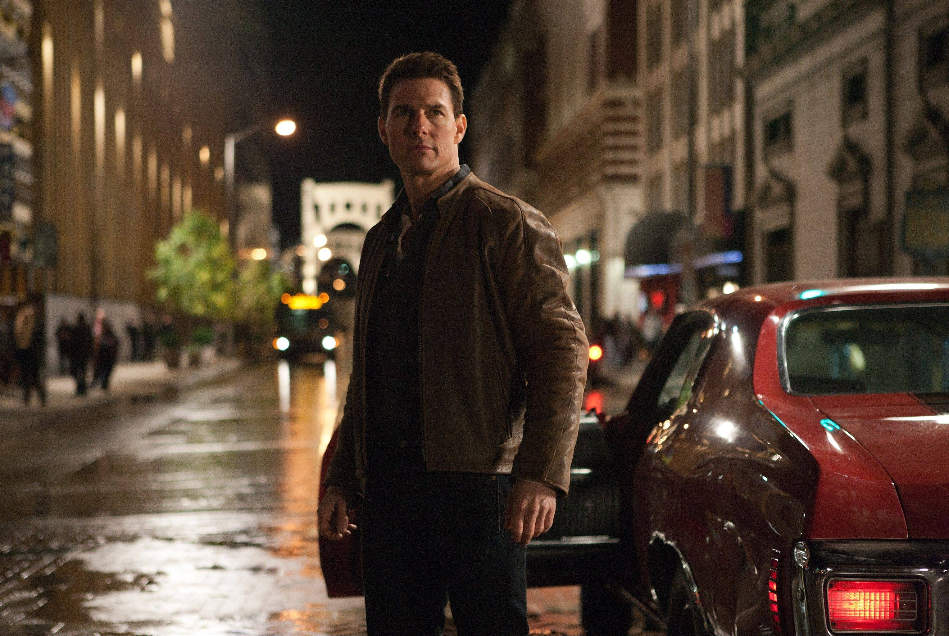 "Tom Cruise plays a vigilante in ""Jack Reacher"""
