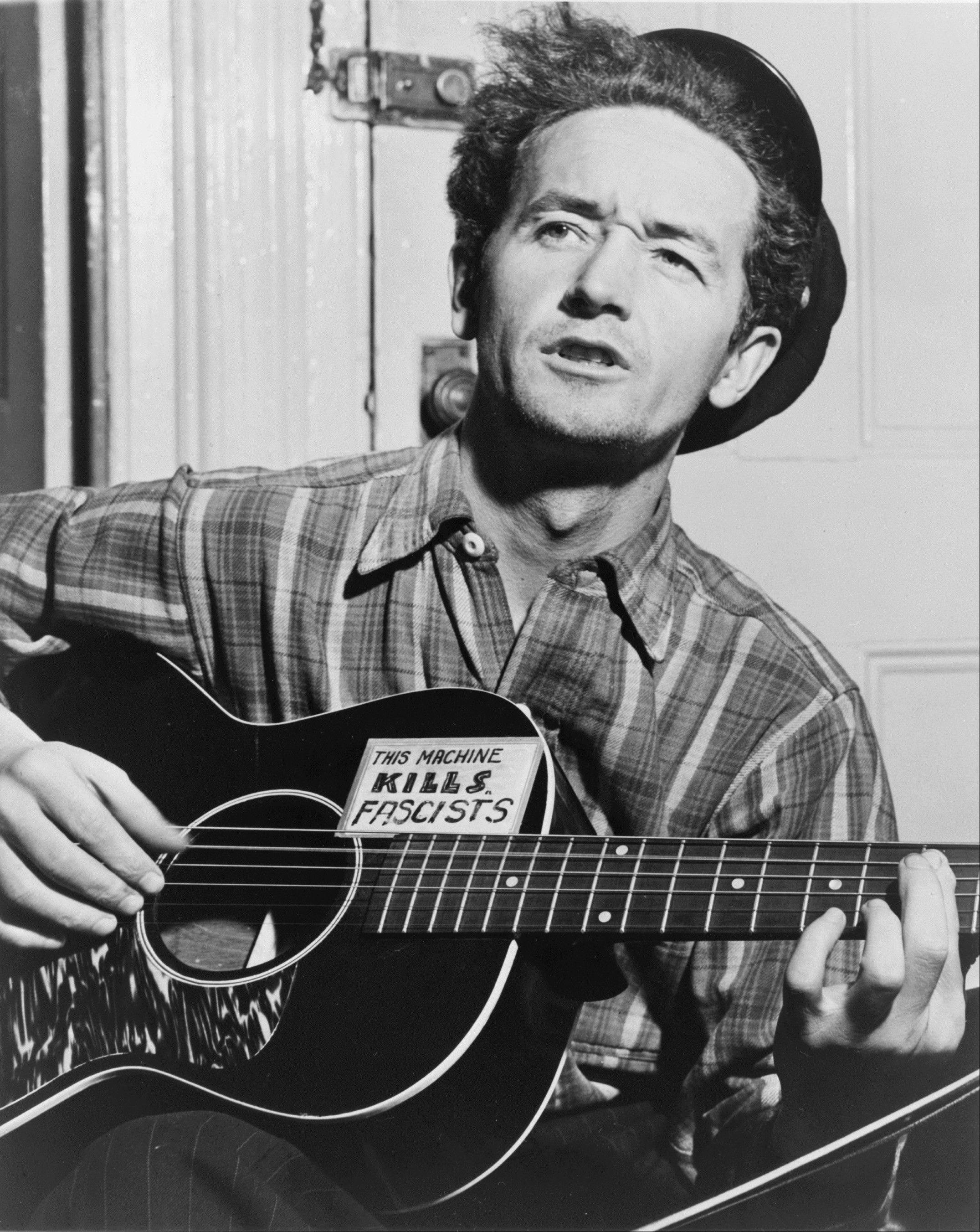 Oklahoma-born folk singer Woody Guthrie. The new Woody Guthrie Center features many interactive exhibits chronicling the life and work of Guthrie and is home to the folk singer's archives.