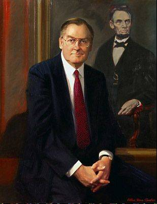 Chambers also did former Gov. Jim Thompson's portrait.
