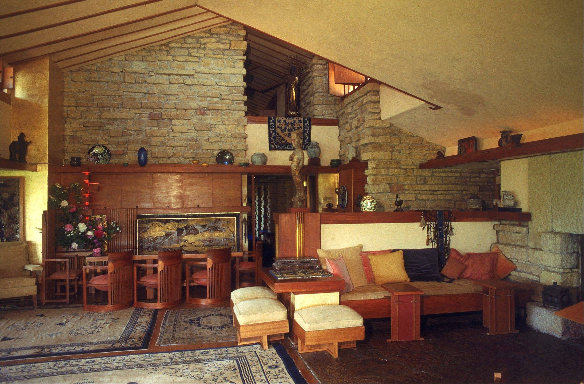 Choose among eight different tour options at Frank Lloyd Wright's Taliesin, one hour west of Madison, Wis.