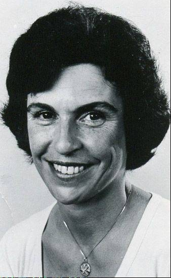 Arlene Mulder in 1979, the year she was picked to fill a vacancy on the Arlington Heights Park District board.