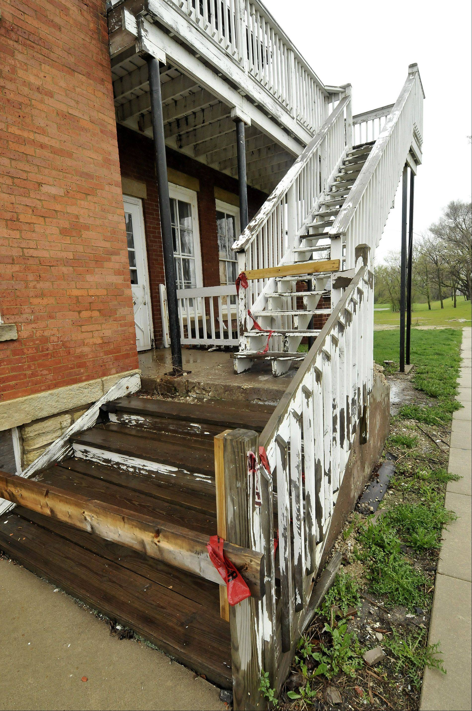 West Chicago, which owns the Joel Wiant House, is seeking a developer to rehabilitate the historic structure. But if one isn't found, the house could be demolished.