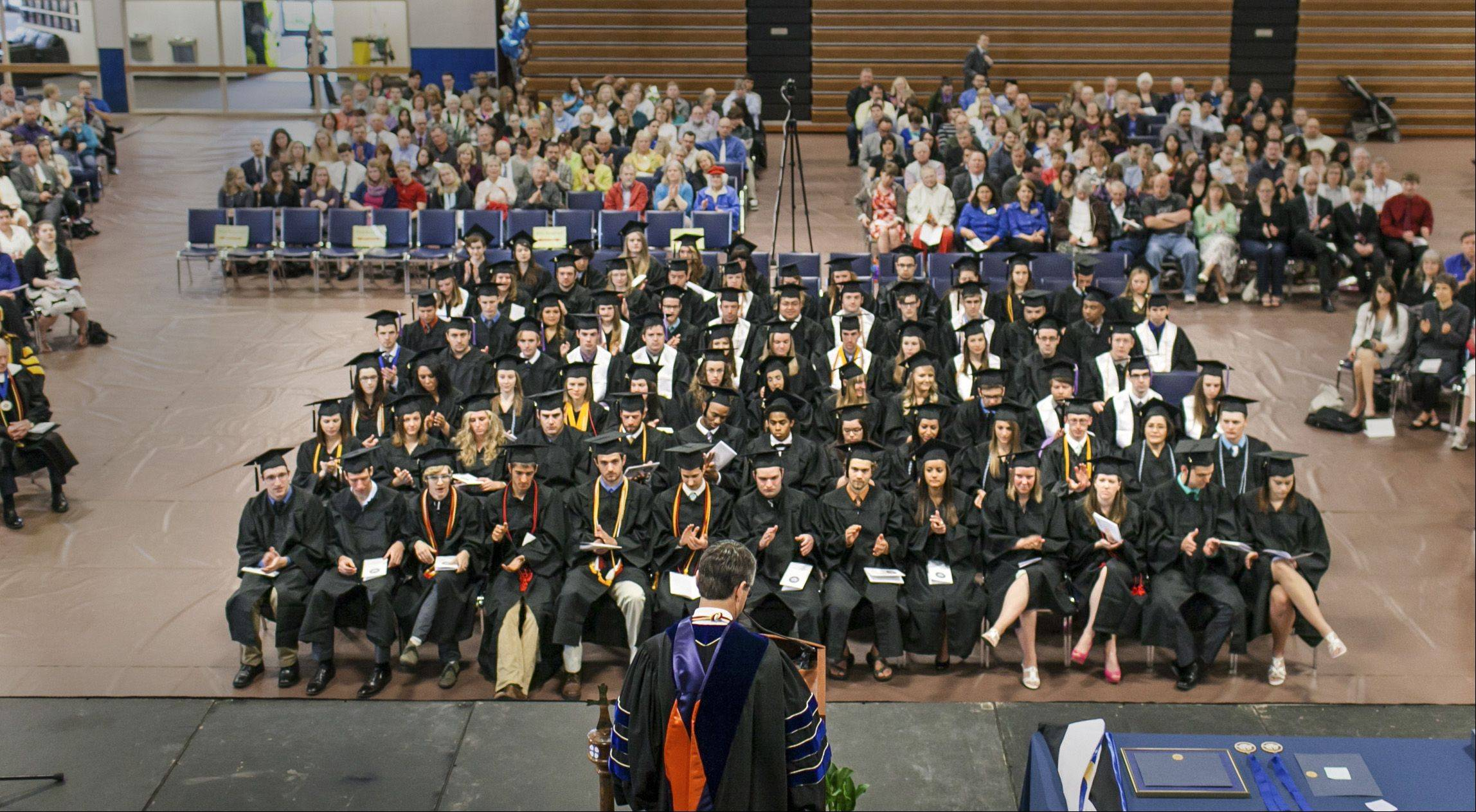 Judson University held its commencement ceremony Saturday.