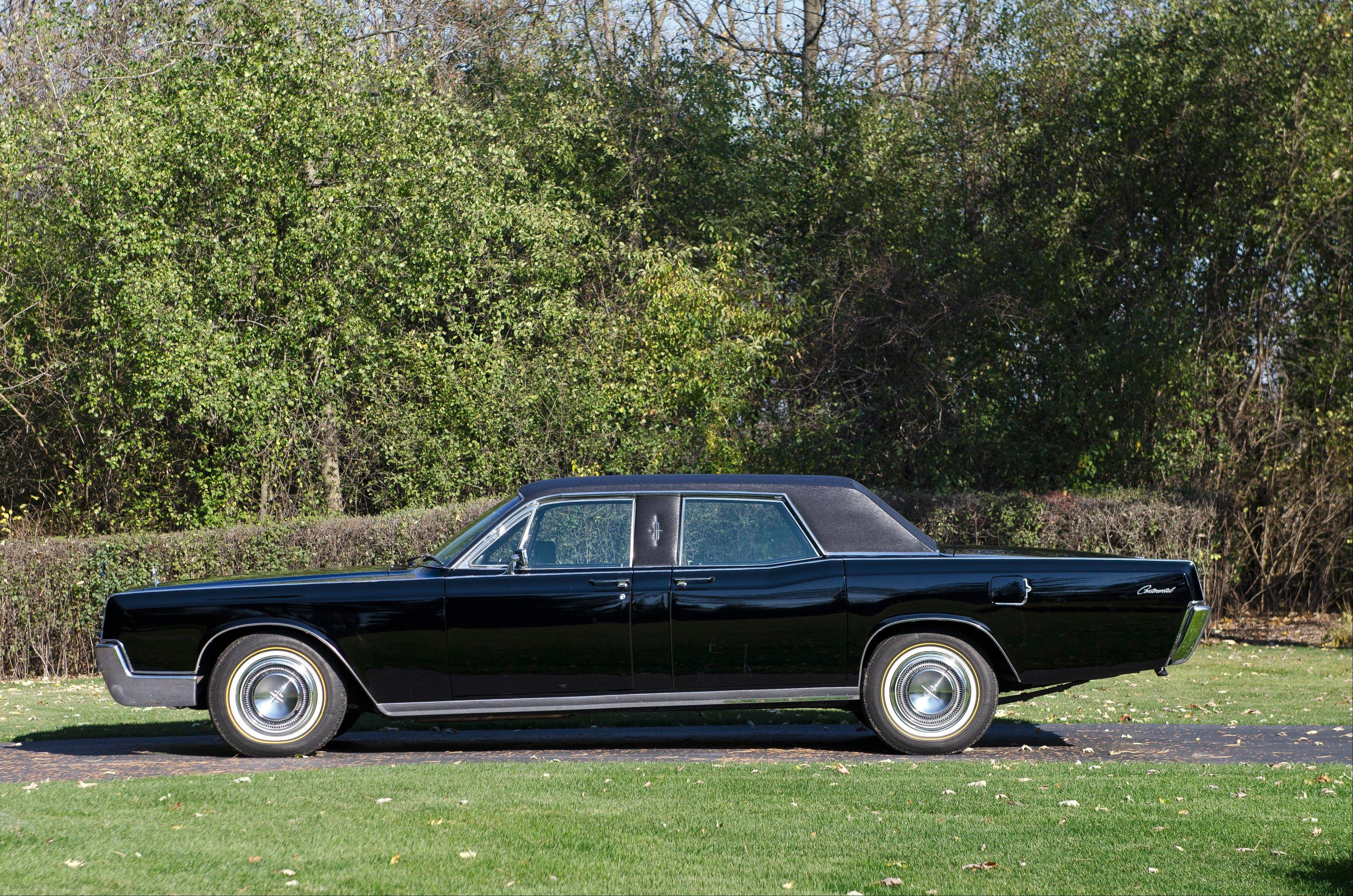 "While most Lehmann-Peterson limousines are stretched 34 inches, this ""Baby Limo"" is one of just six made that were merely eight inches longer than a standard Lincoln Continental."