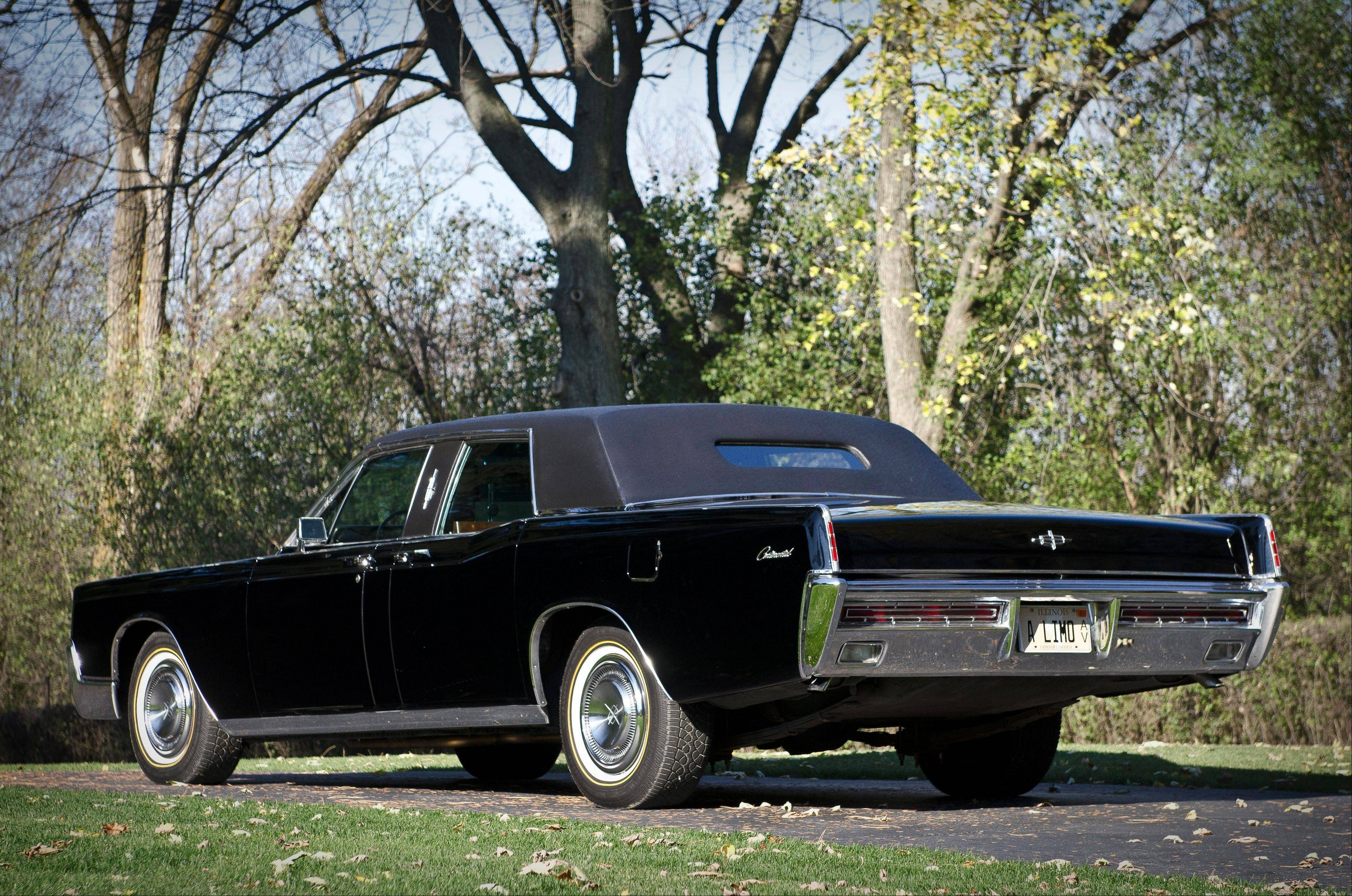 After Searle's ownership, the limousine went to an East Coast collector before more recently coming back to an Illinois enthusiast last year.