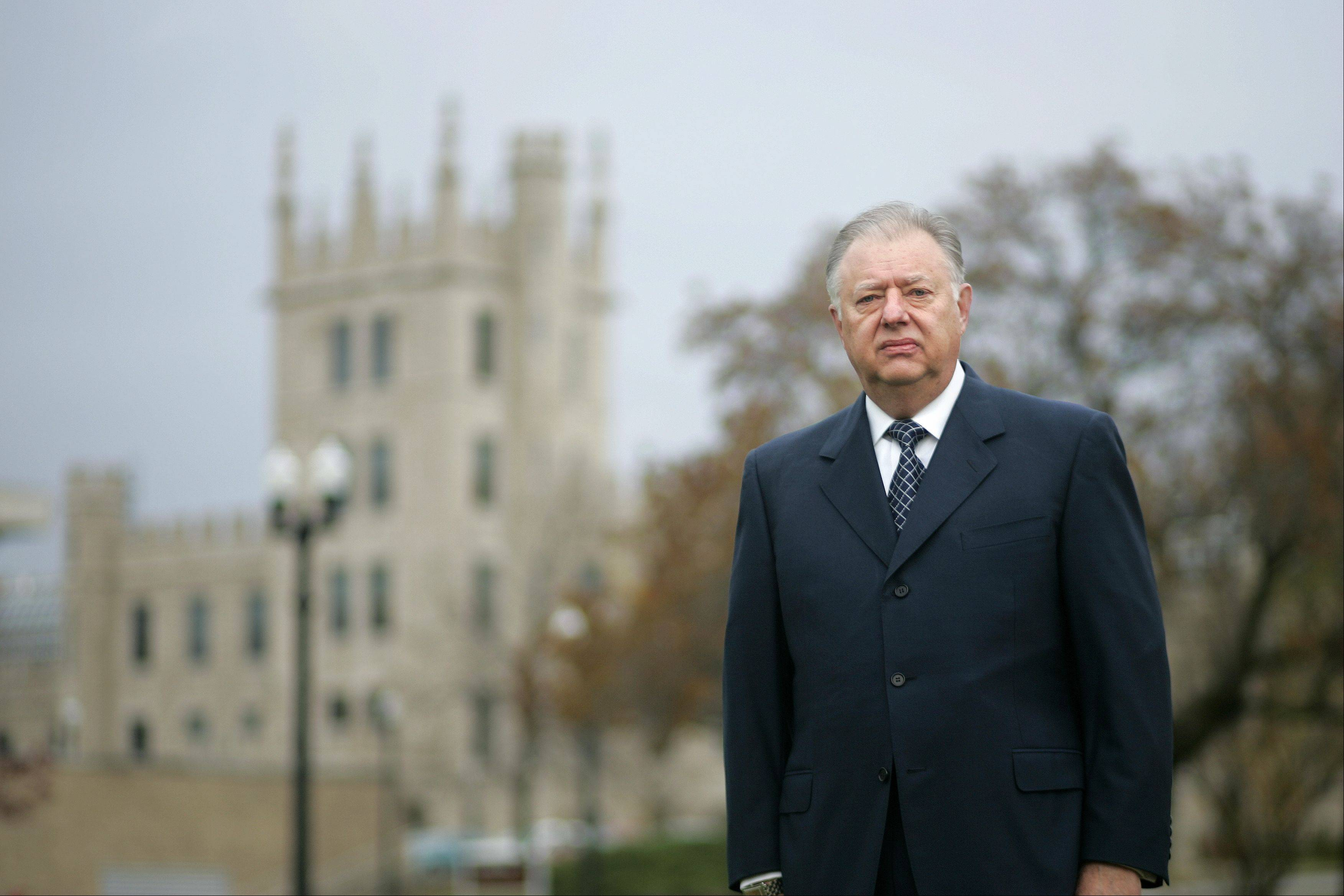BRIAN HILL/bhill@dailyherald.com, 2008 John Peters' tenure as Northern Illinois University president will end June 30.