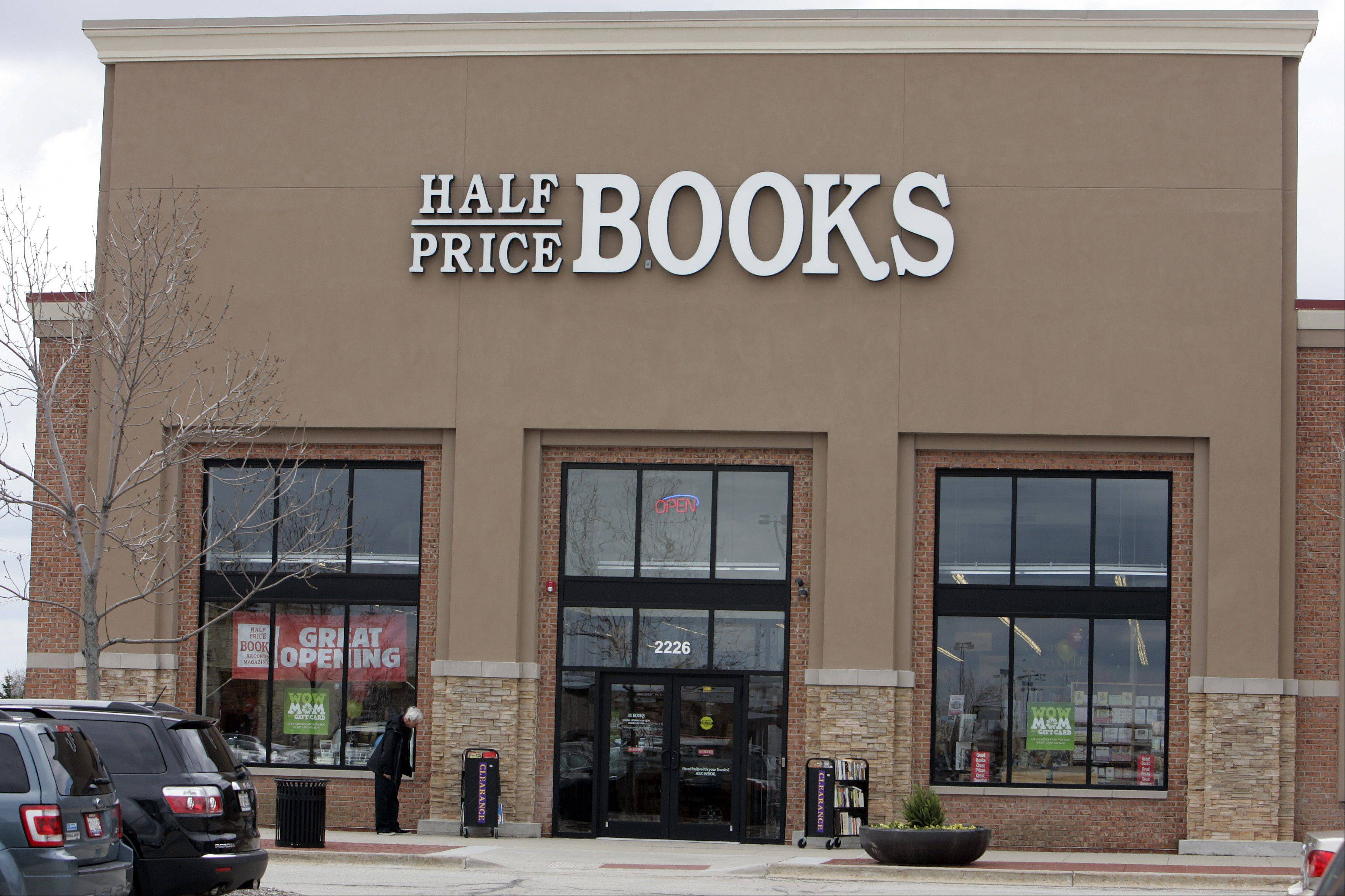 Half Price Books recently held a grand opening at Algonquin Commons. The store is inside the former Borders location.