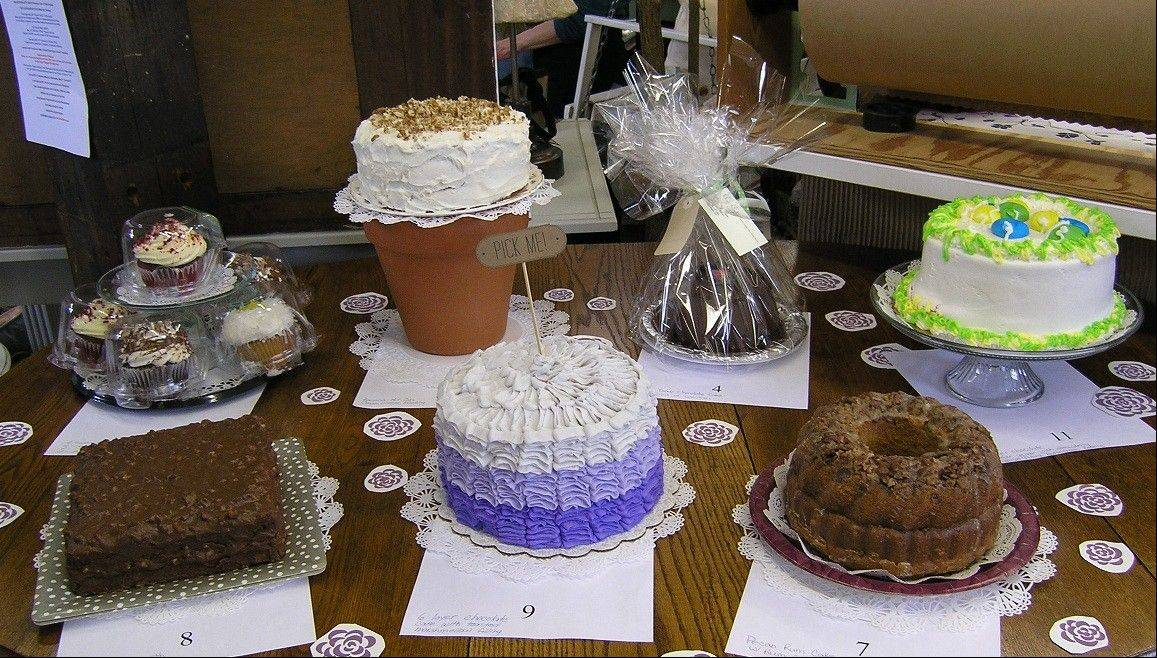 The Barrington Relay For Life holds a bake sale as part of its fundraising effort to fight cancer.