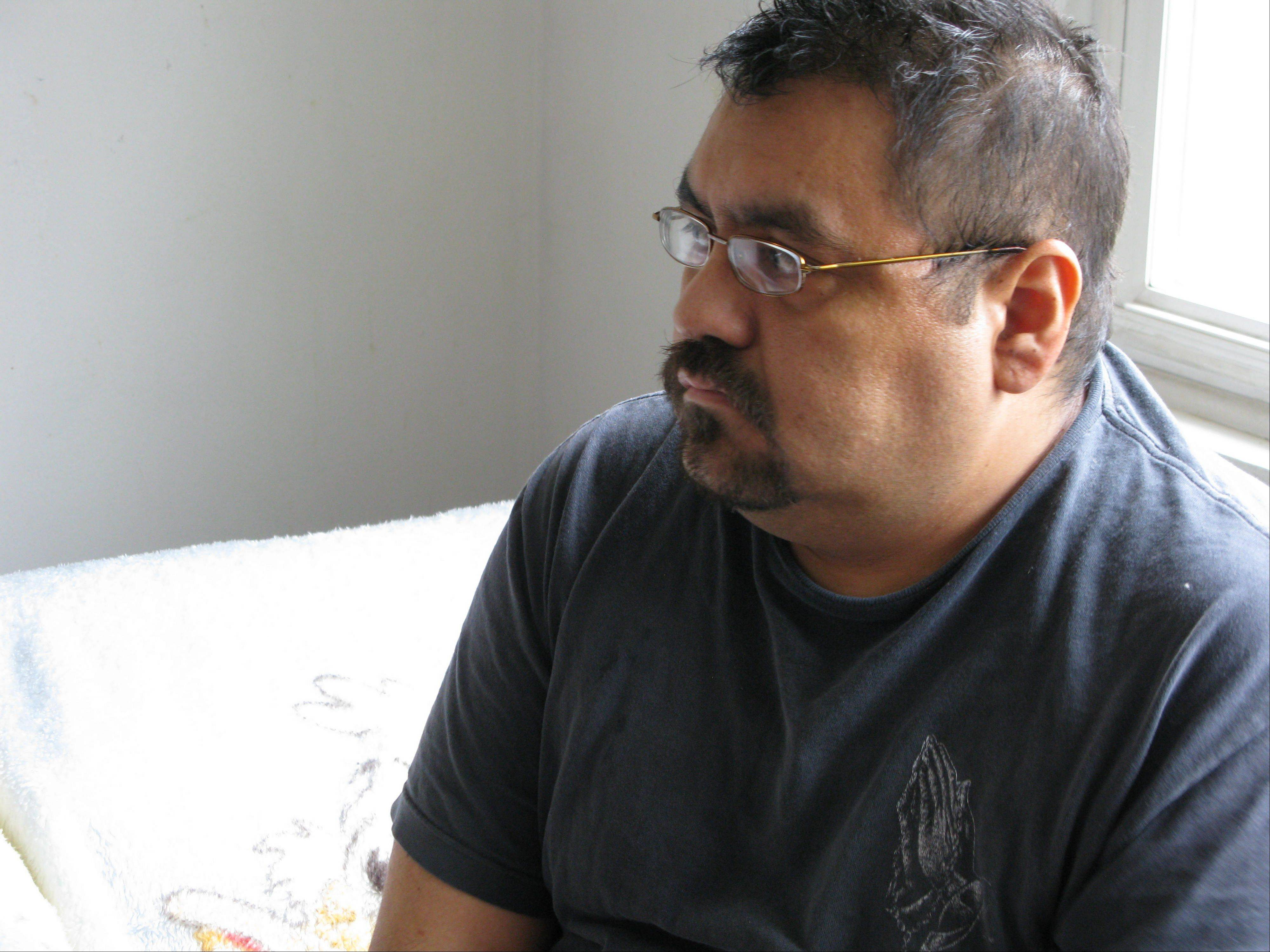 Neftali Hernandez, 35, suffers from aplastic anemia and is in need of a donor for a bone-marrow transplant. So far, he has not been able to find a suitable match.