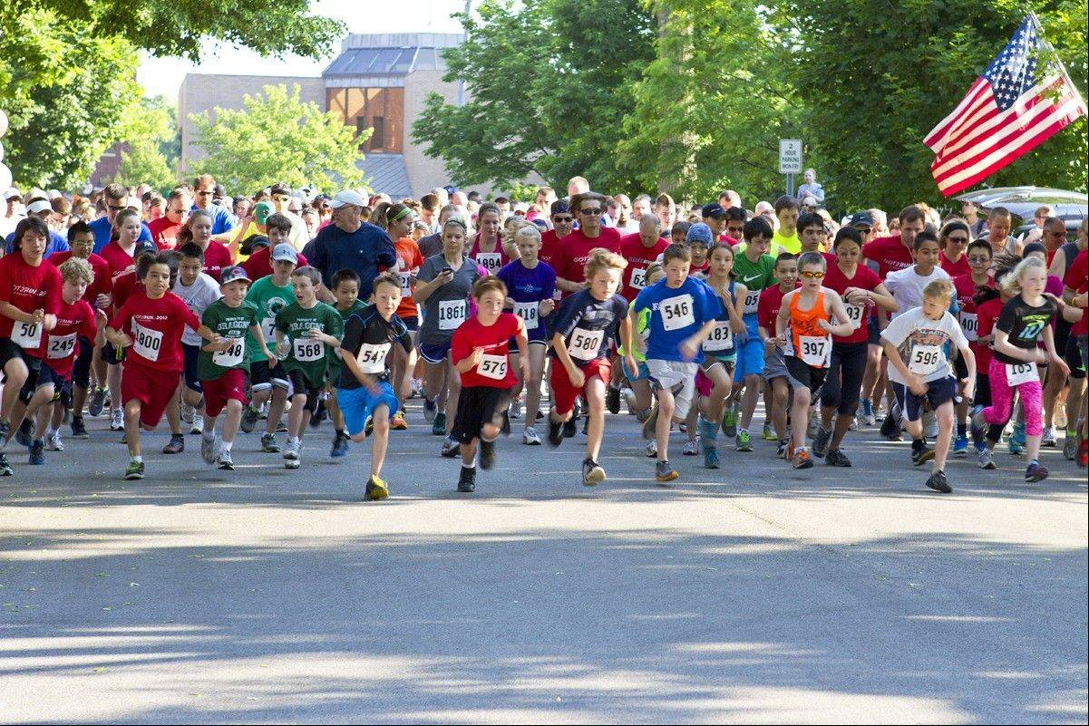 Nearly 800 runners participated in 2012�s Got2Run event, benefiting 98 schools in 62 towns. The 2013 event is Saturday, May 18, in Arlington Heights.