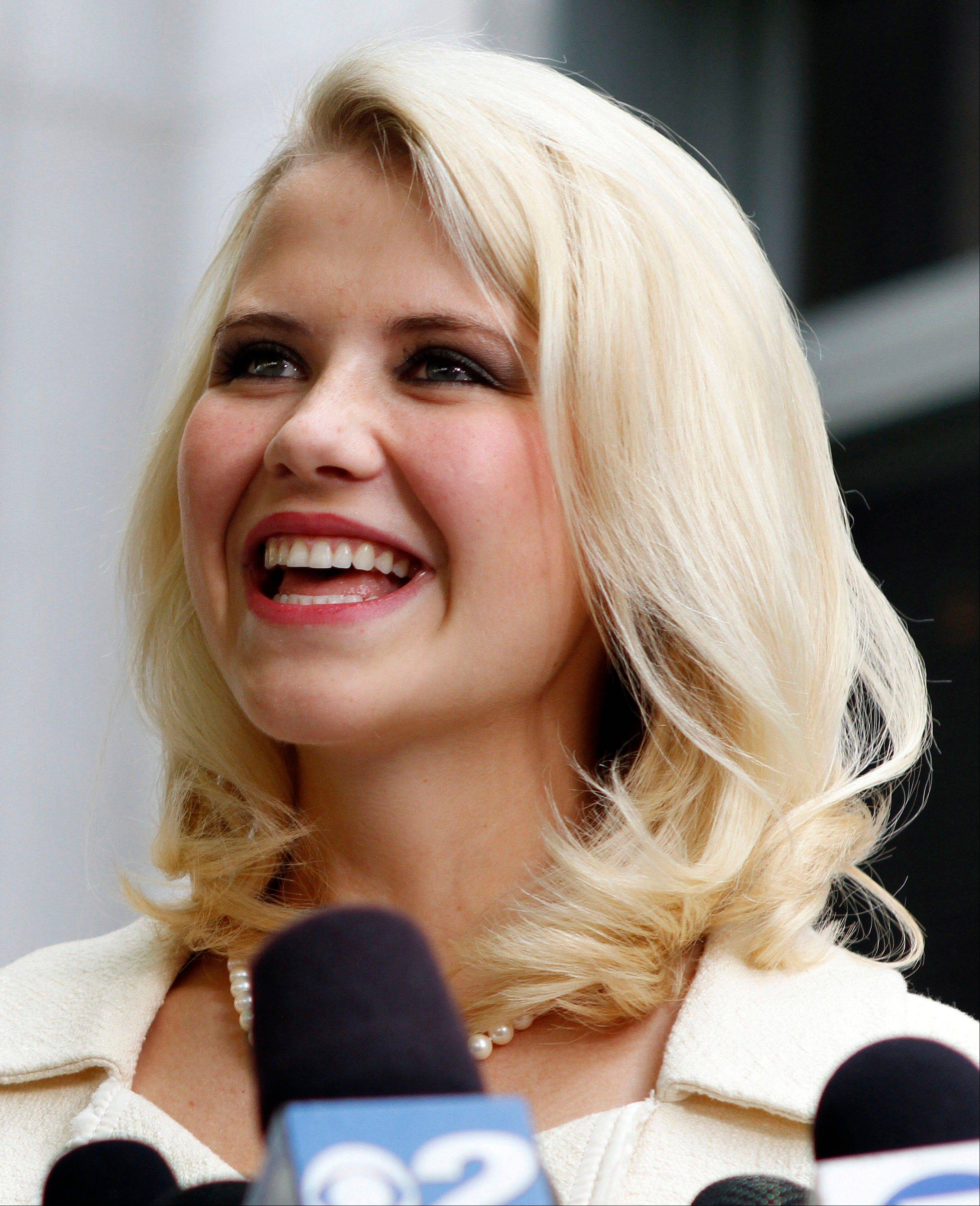 Elizabeth Smart overjoyed to hear of women