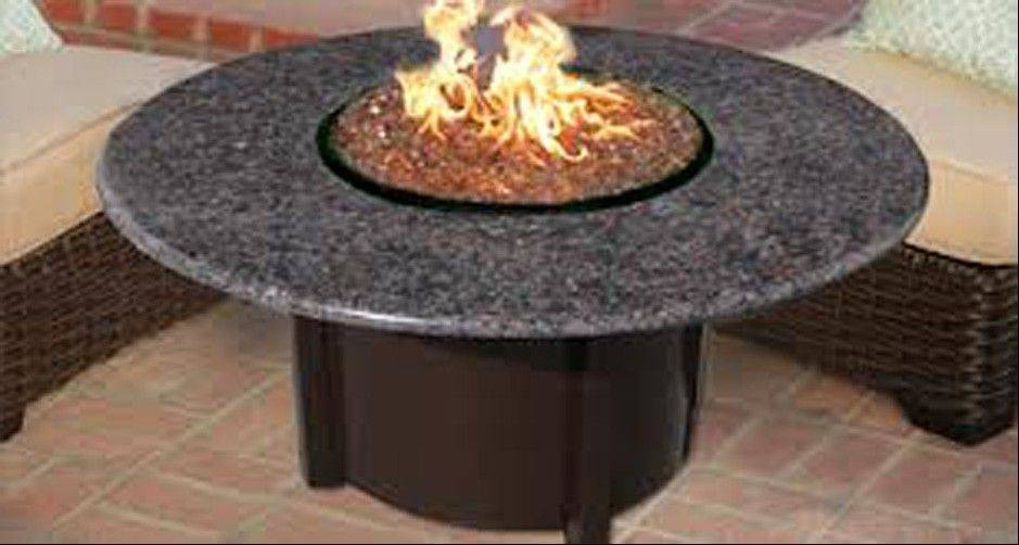 A fire pit will further enhance the yard to make it a place to entertain.