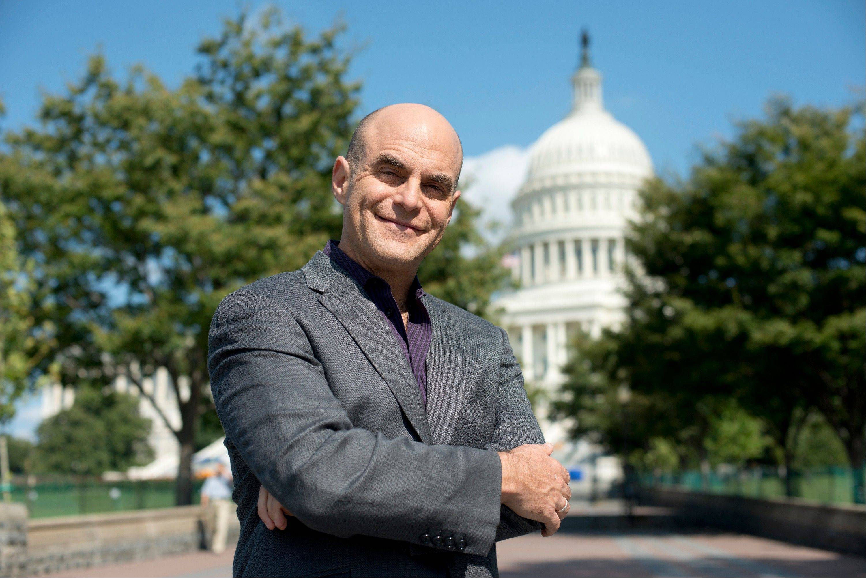 "Host Peter Sagal of ""Constitution USA with Peter Sagal"" on PBS."