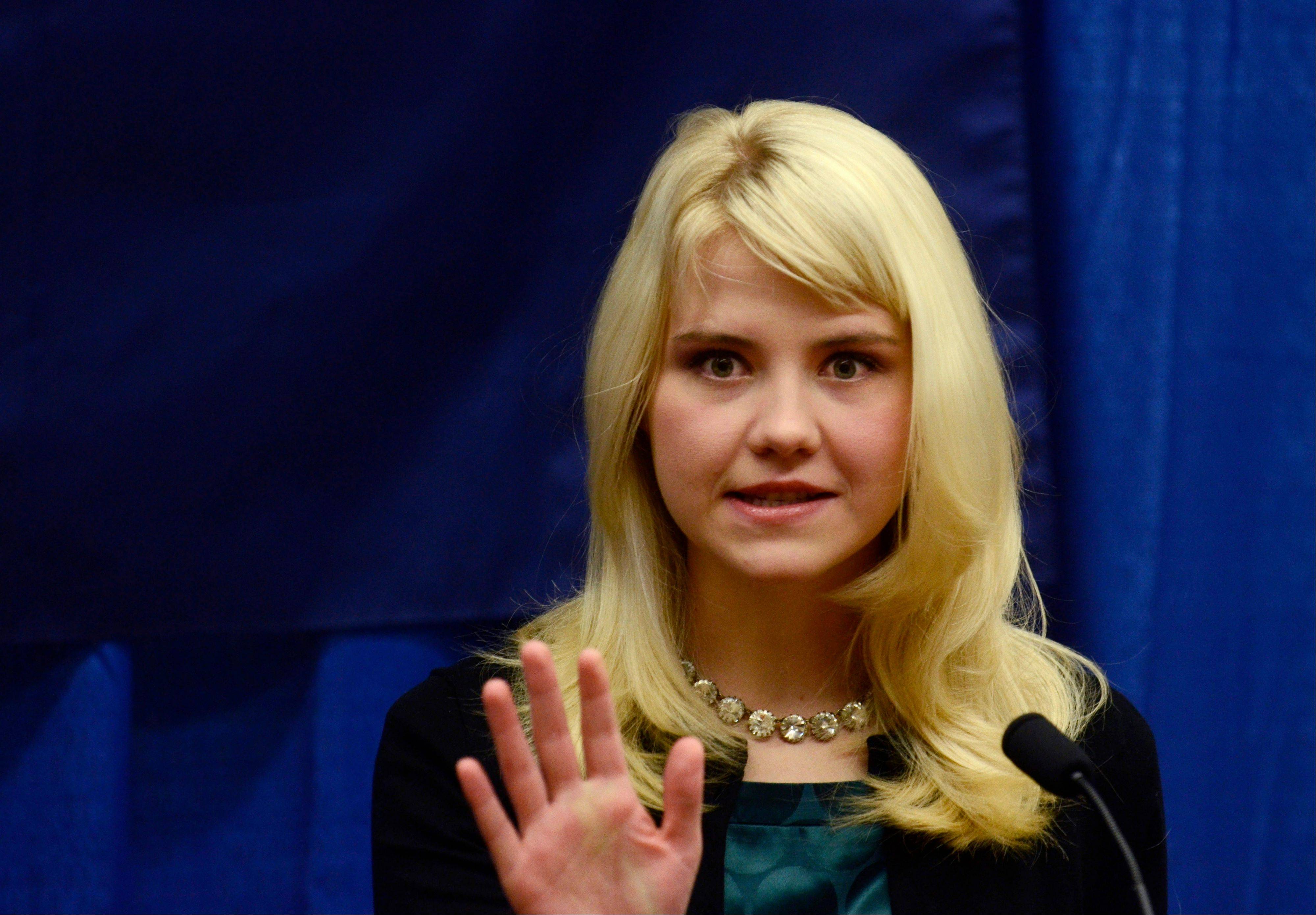 Elizabeth Smart was abducted in 2002 and held prisoner for nine months before being reunited with her family in 2003.