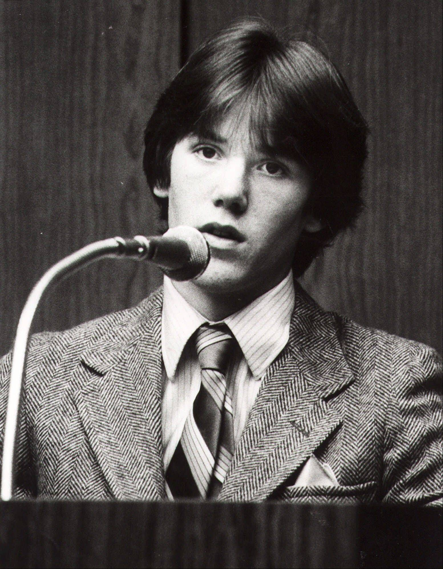 Steven Stayner testifies about his abduction in 1972 by Kenneth Eugene Parnell and his seven years in captivity. Stayner was kidnapped in 1972 while walking home from school at age 7 in Merced, California.