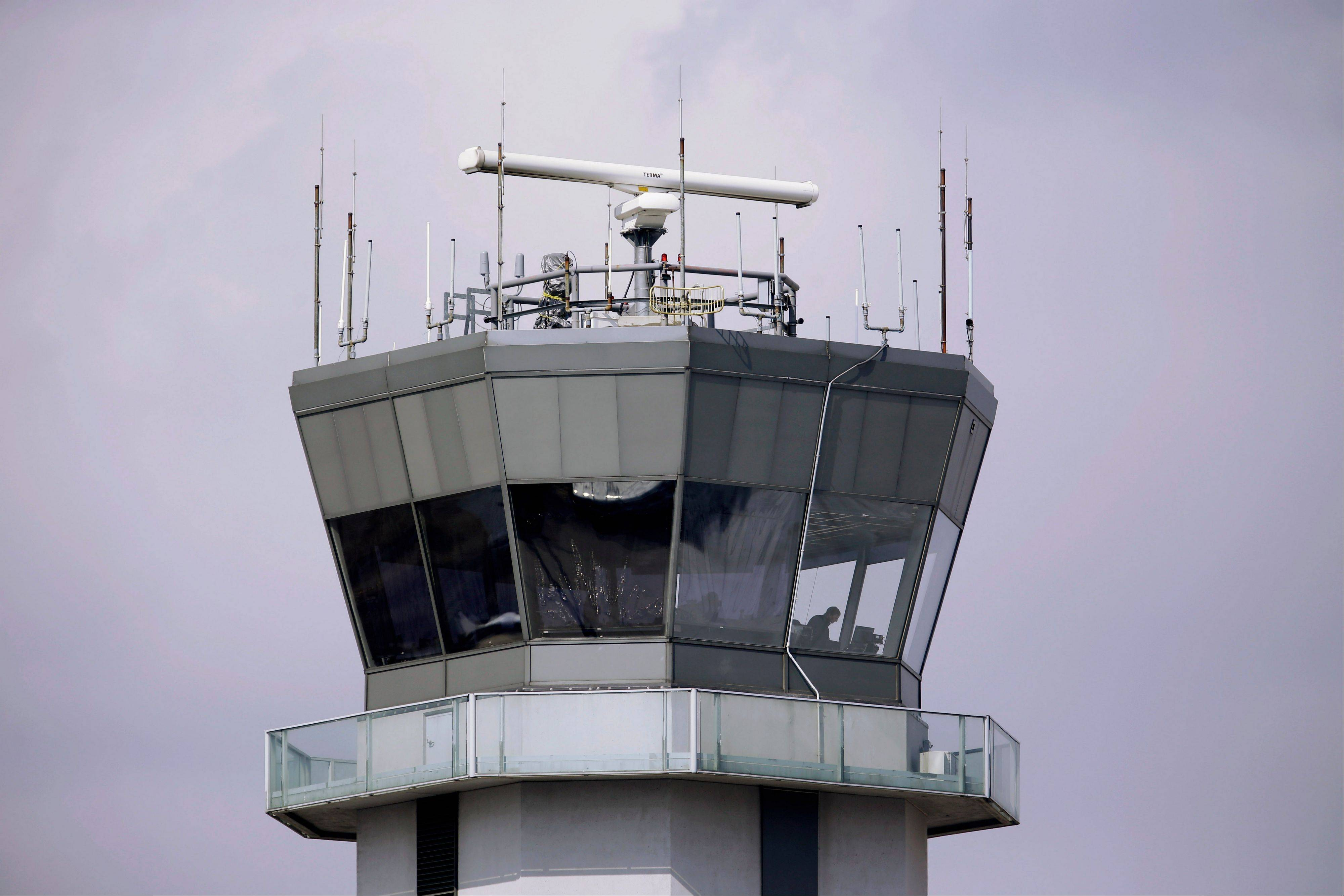 Daily Herald File Photo Midway's air traffic control tower will stay open overnight.