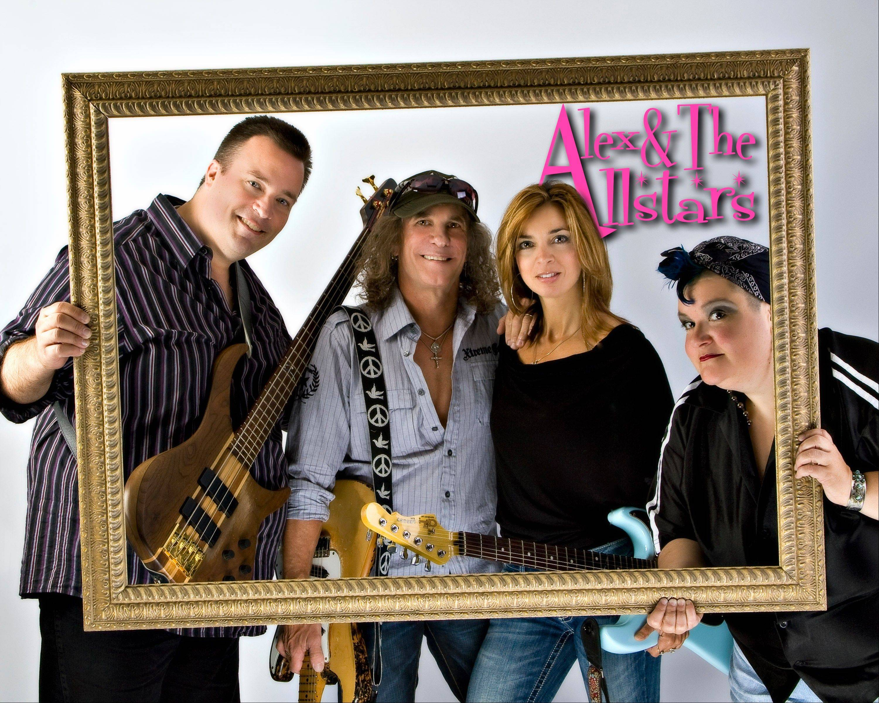 Alex & The Allstars headline Peggy Kinnane's Irish Restaurant and Pub in Arlington Heights.