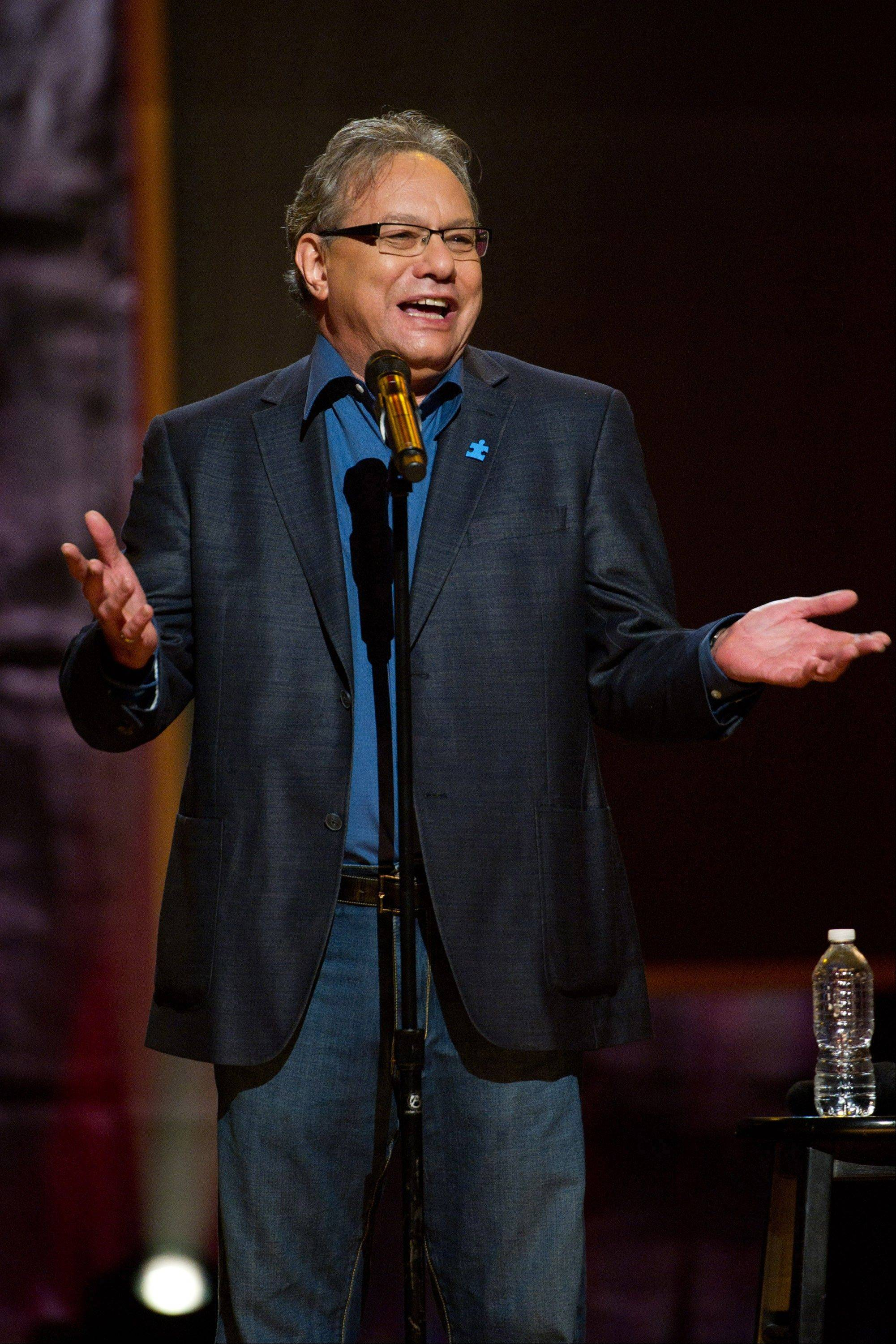 Comedian Lewis Black is set to perform at the Genesee Theatre in Waukegan on Saturday, May 11.