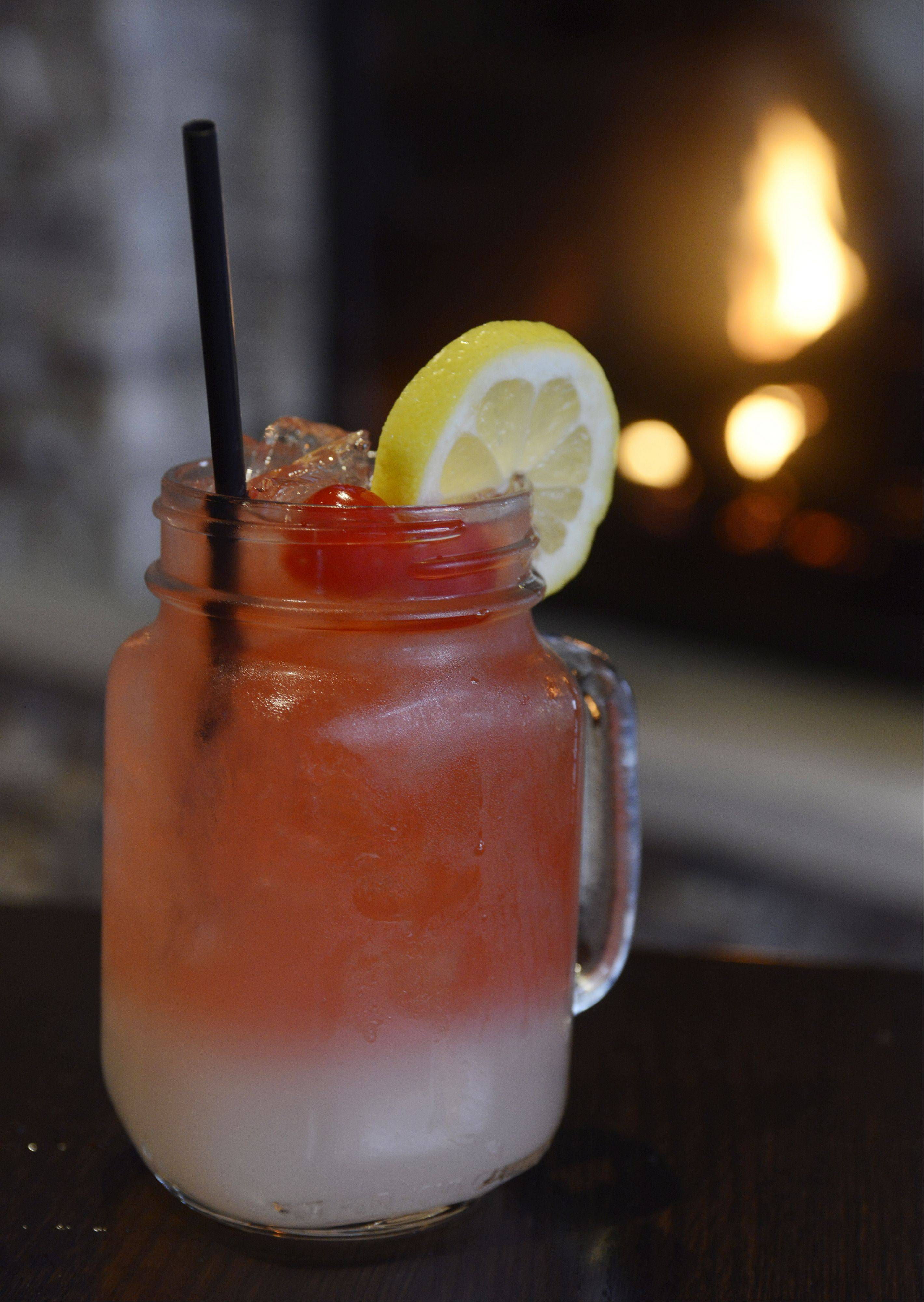 Electric Lemonade is among the specialty cocktails at Rack House Kitchen and Tavern in Arlington Heights.