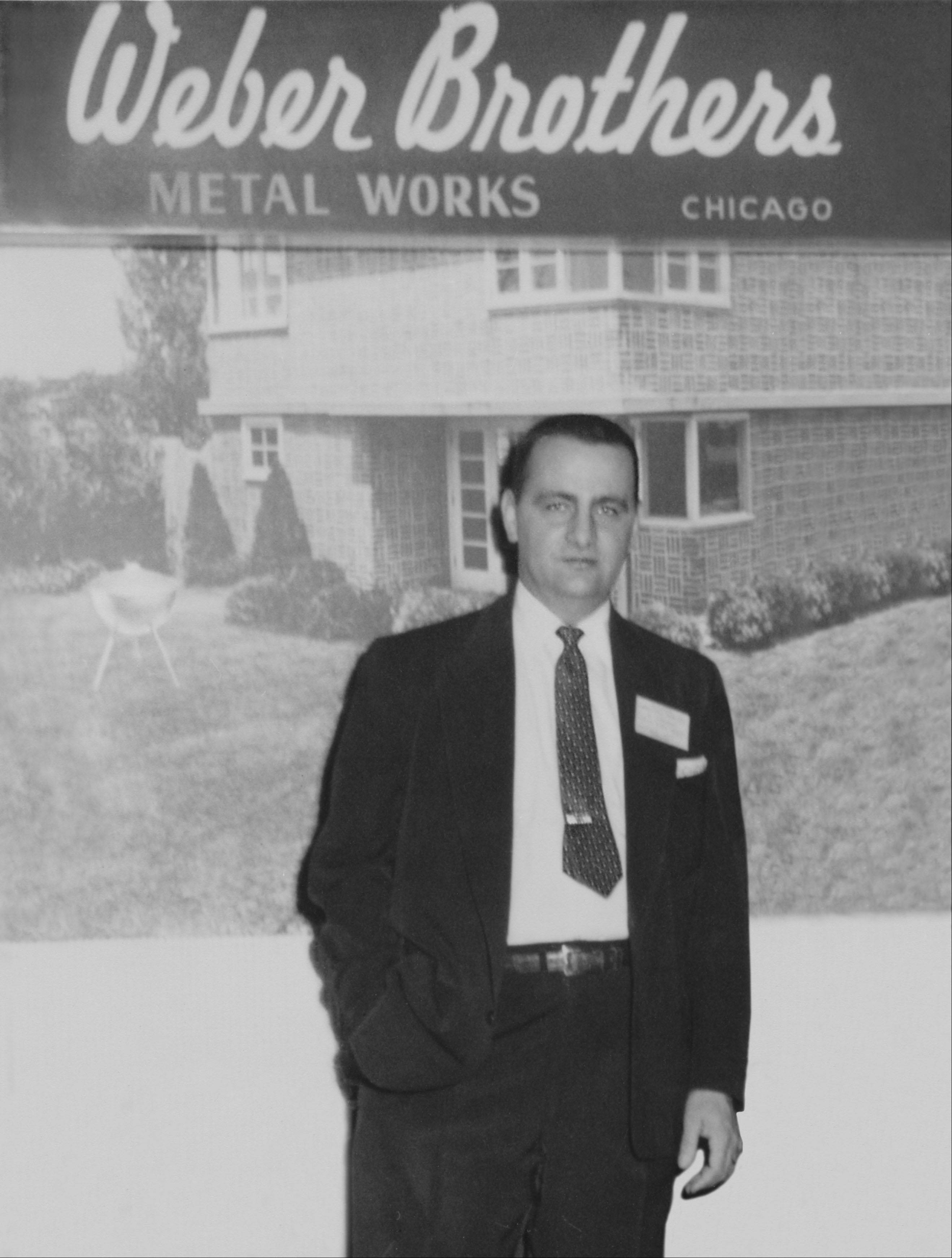 George Stephen was living in Mount Prospect when he built the first kettle-style grill in 1952.
